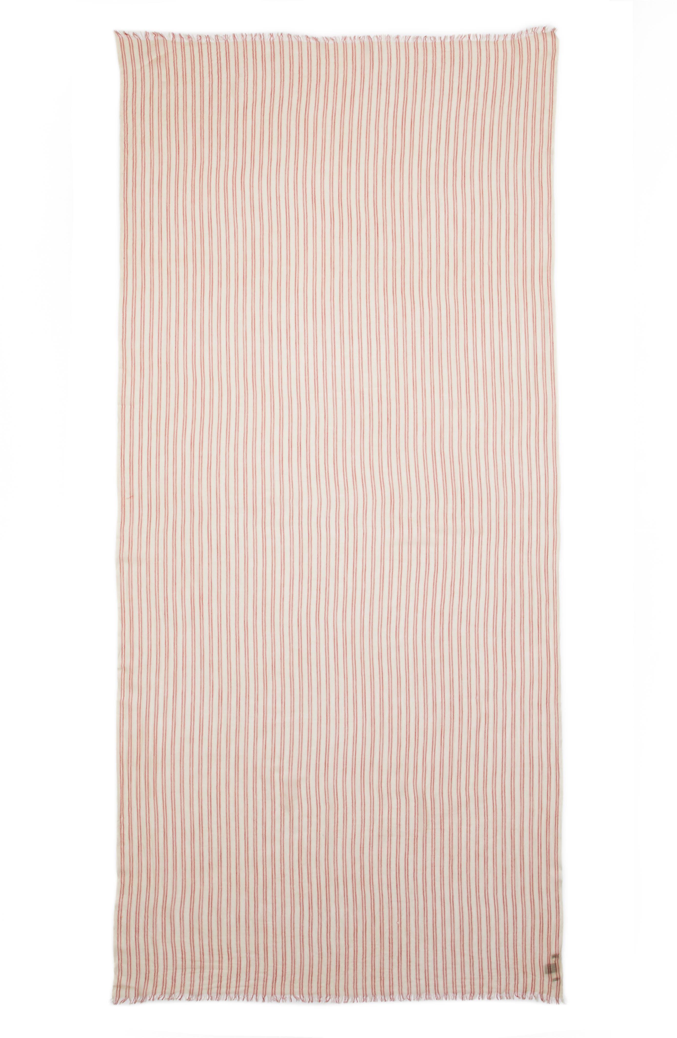 Alternate Image 2  - Isabel Marant Woody Stripe Wool Scarf