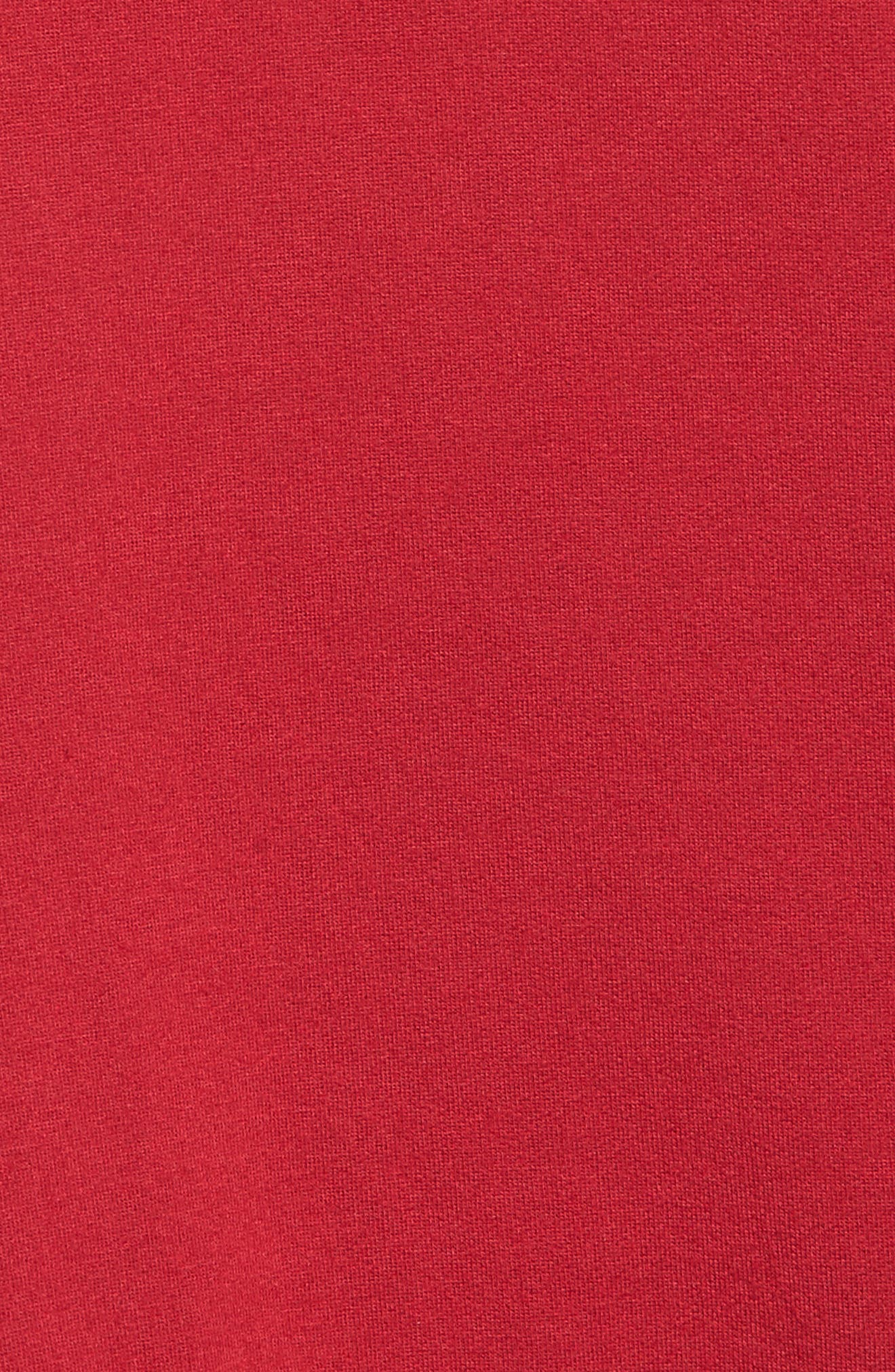 Alternate Image 5  - Velvet by Graham & Spencer Stripe Sleeve Hoodie