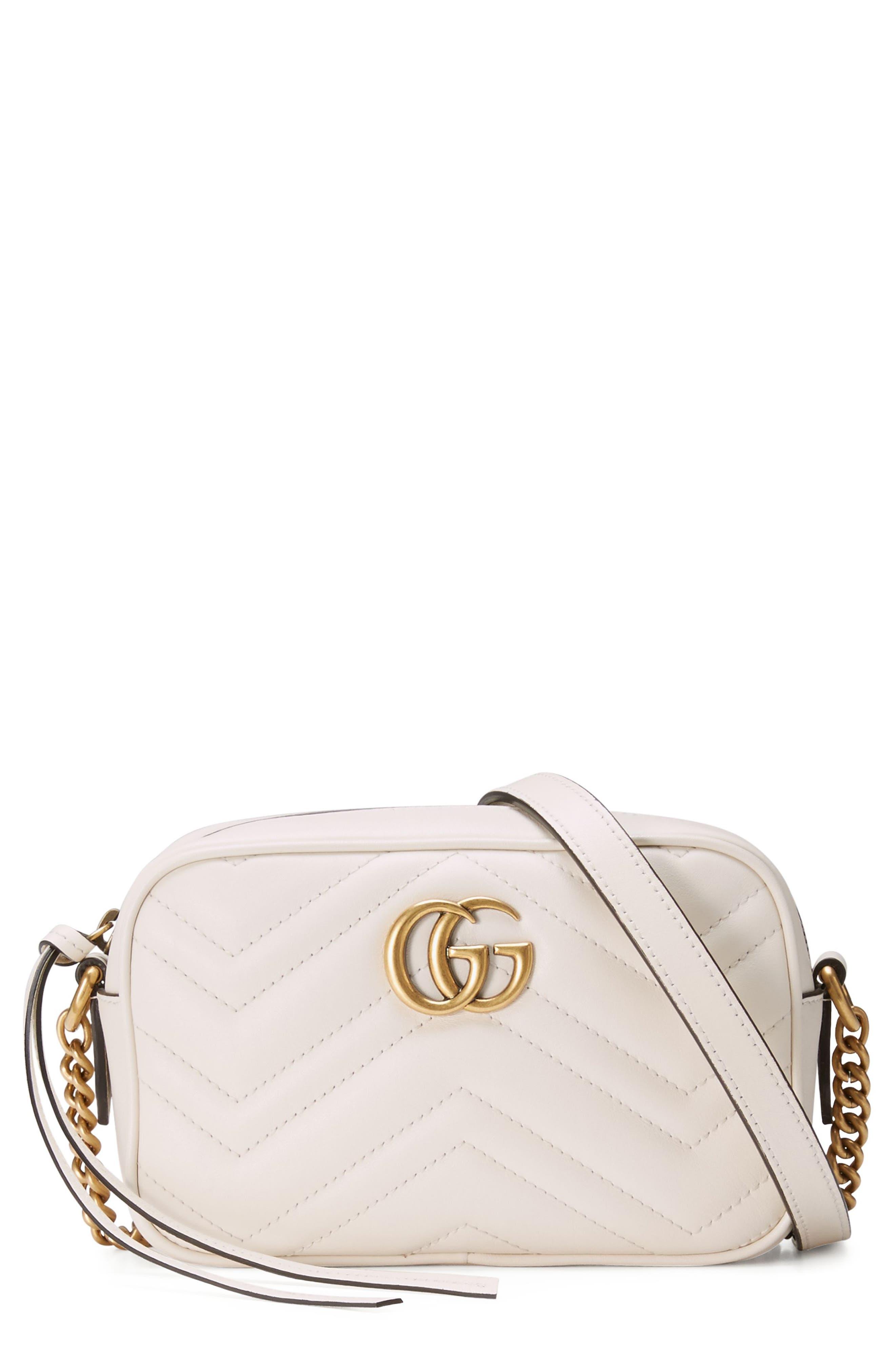 Gucci GG Marmont 2.0 Matelassé Leather Shoulder Bag