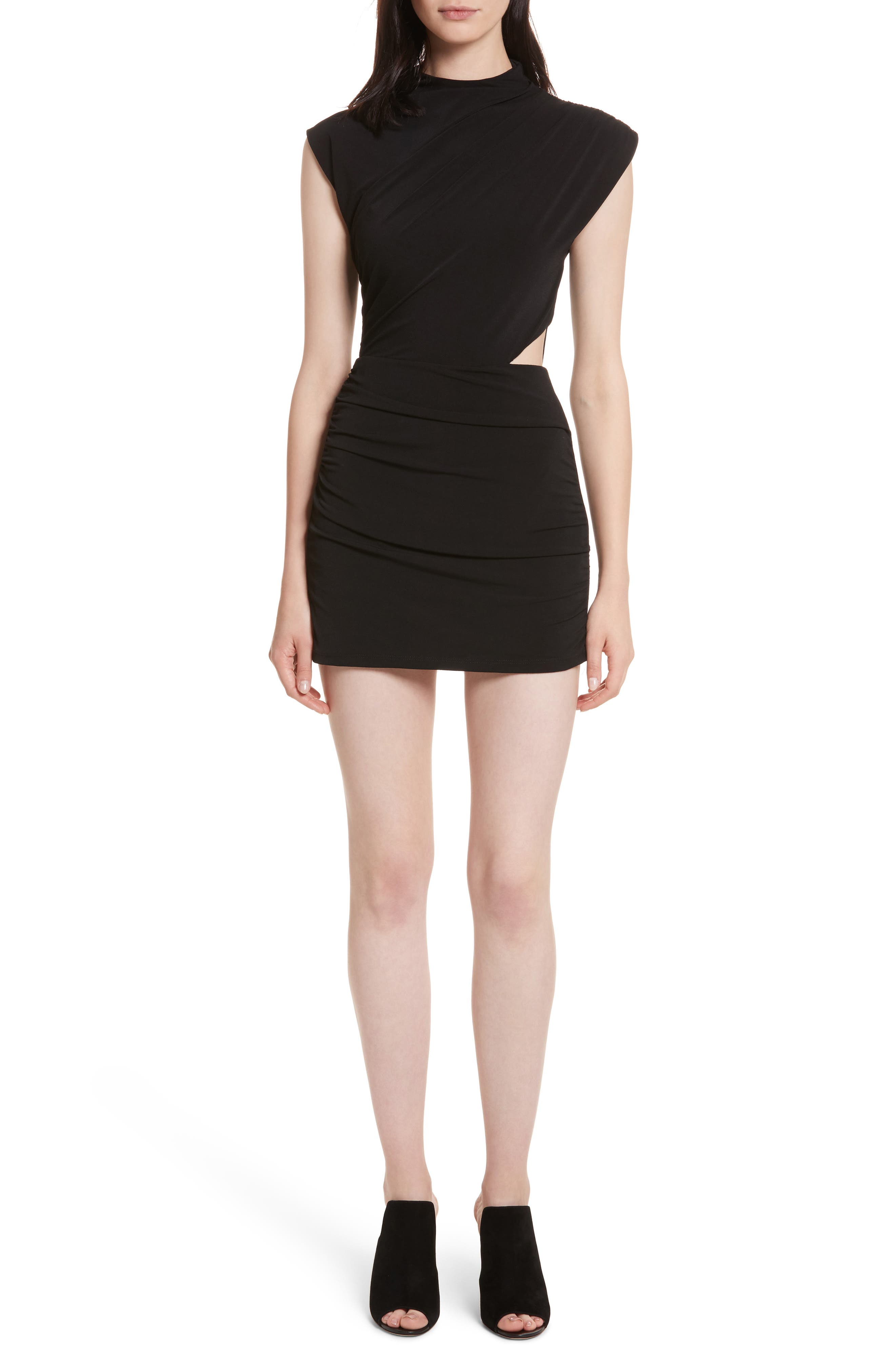 Alternate Image 1 Selected - Alice + Olivia Suellen Draped Romper