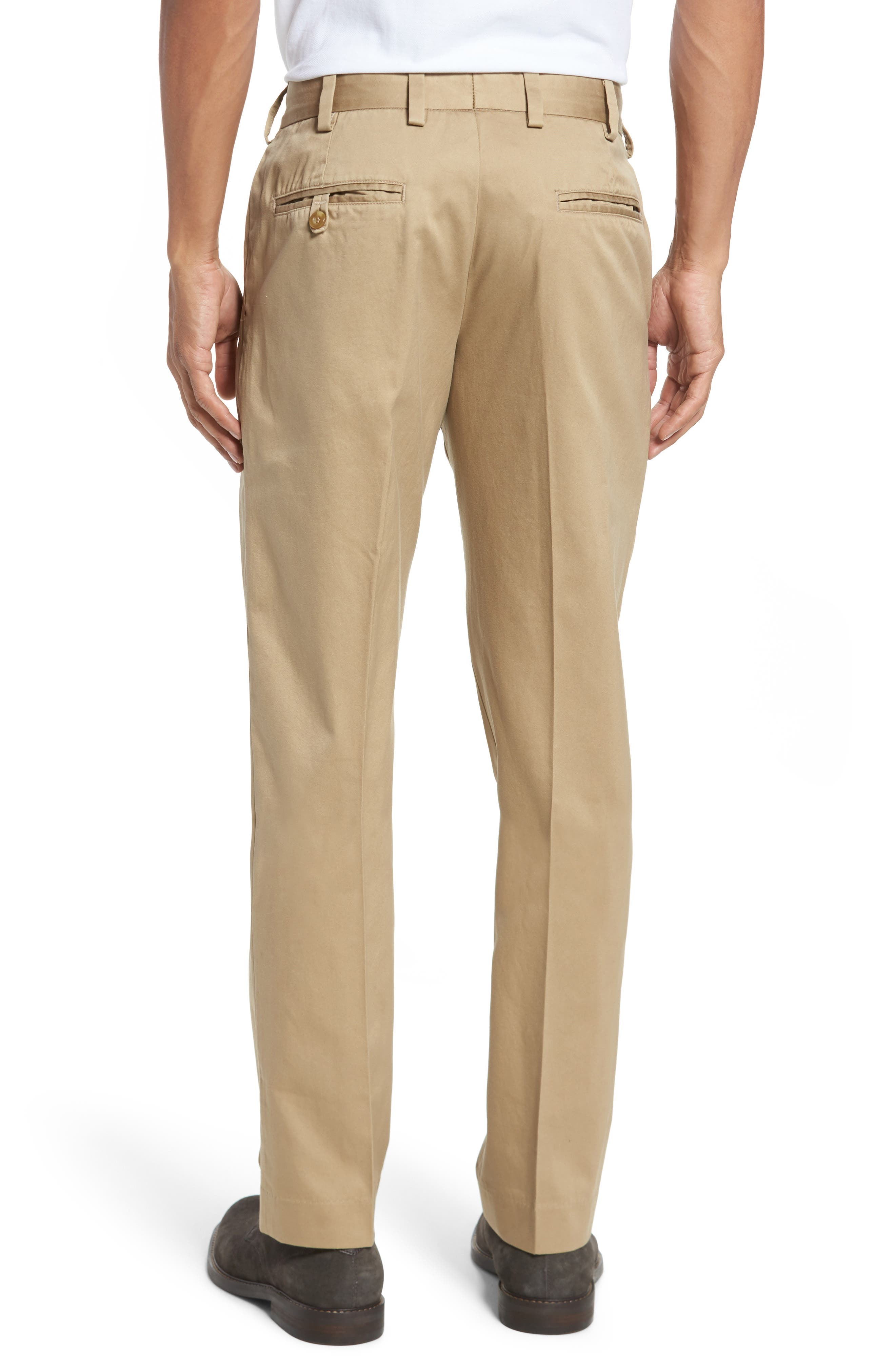 Straight Fit Chamois Cloth Pants,                             Alternate thumbnail 2, color,                             Camel