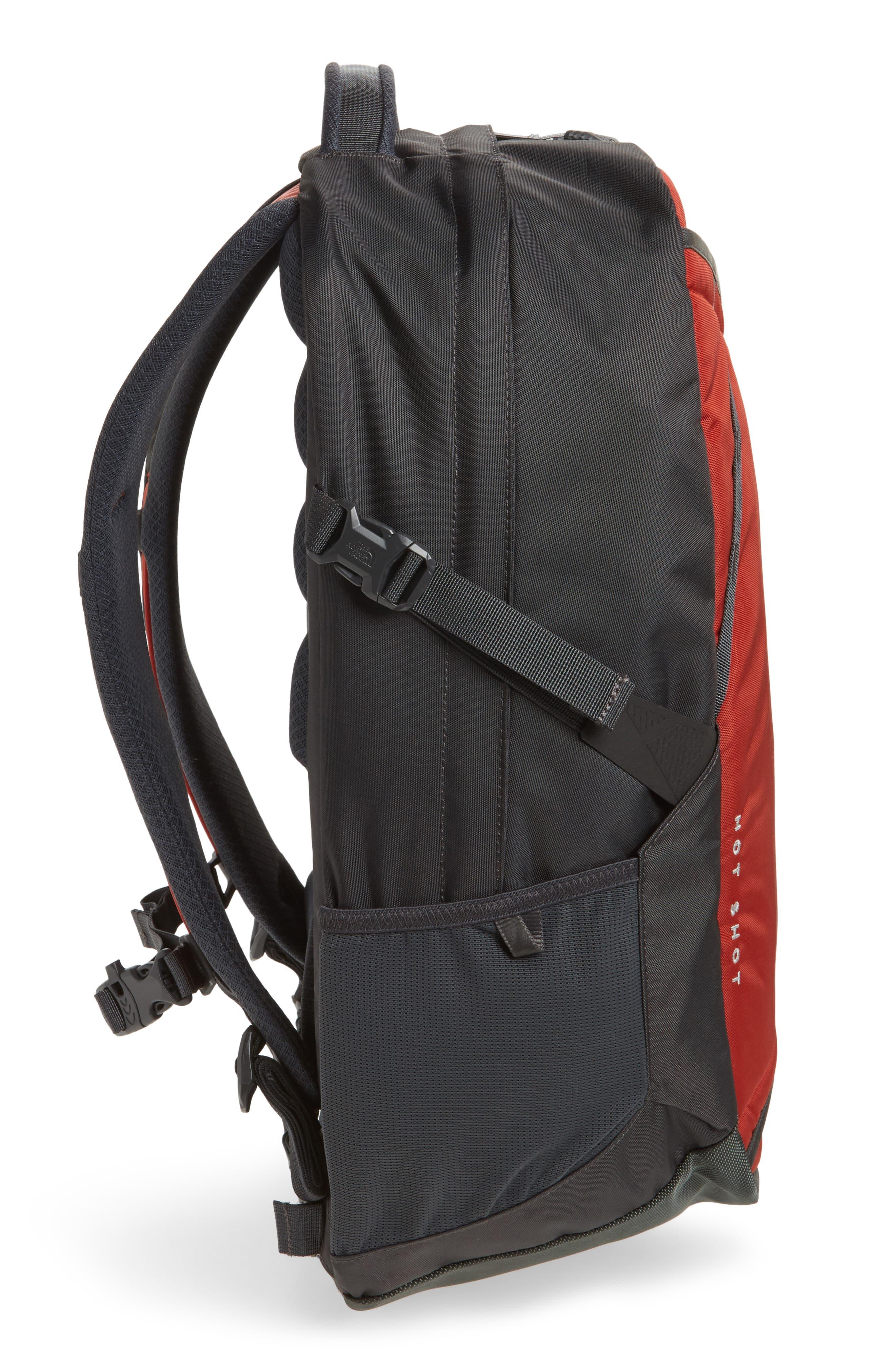 Hot Shot Backpack,                             Alternate thumbnail 5, color,                             Ketchup Red/ Asphalt Grey