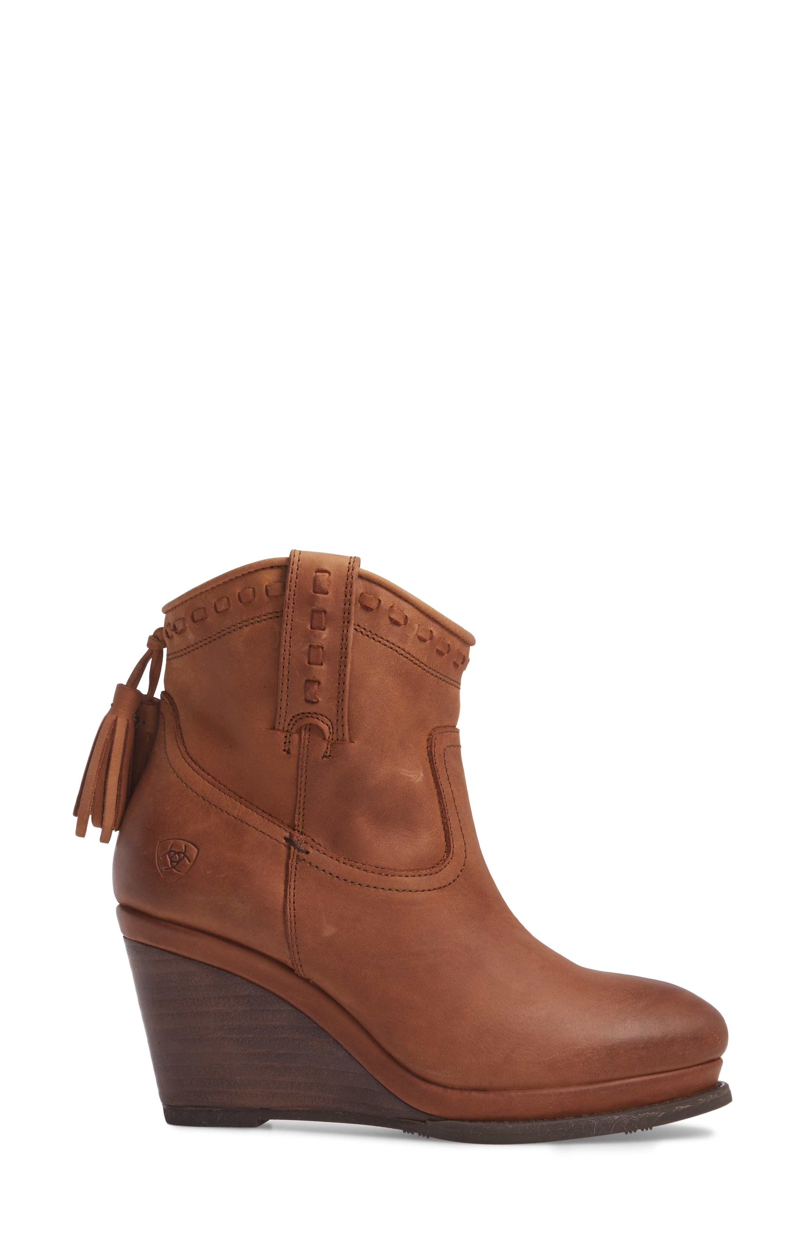 Alternate Image 3  - Ariat Broadway Western Wedge Boot (Women)