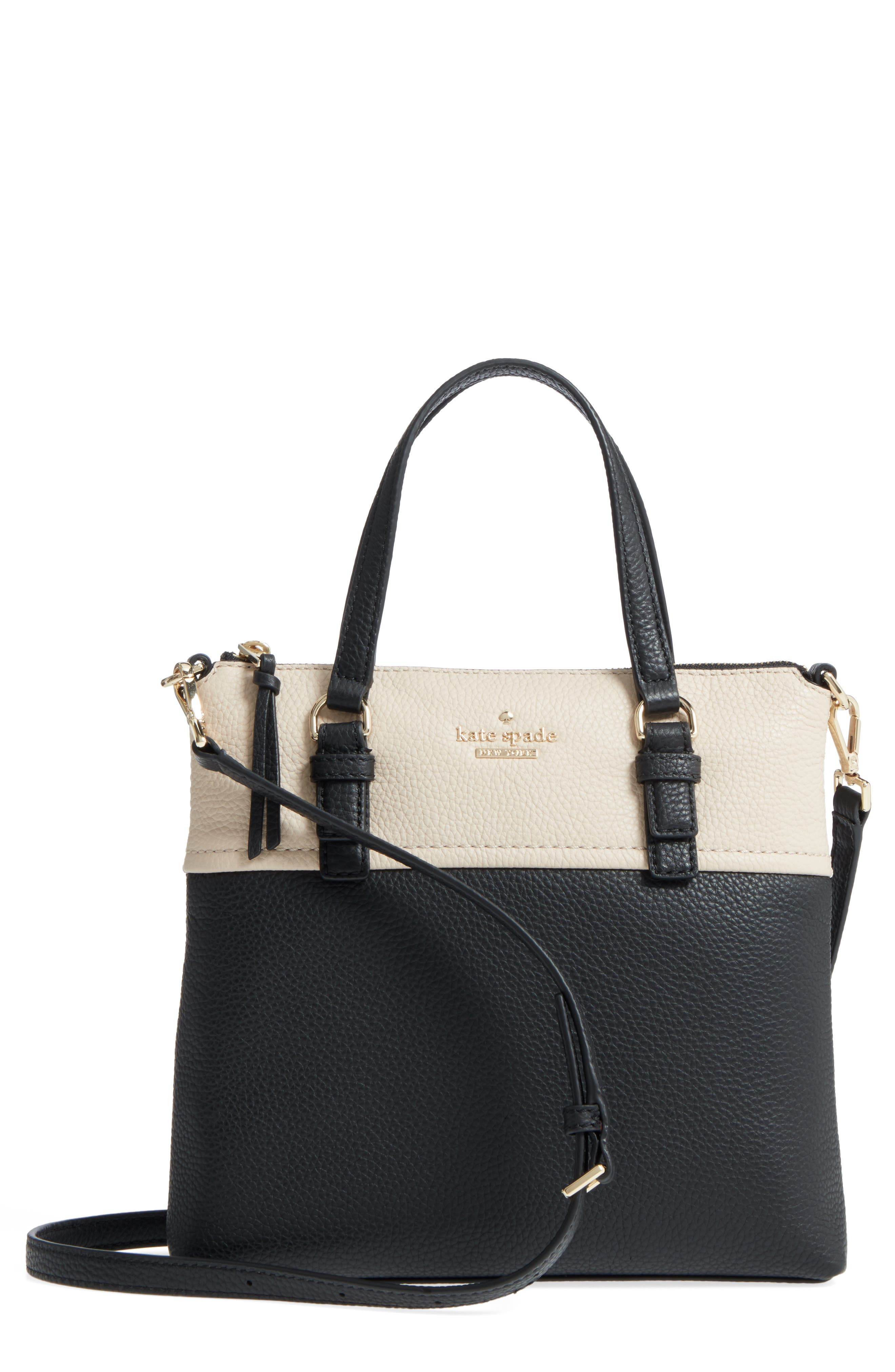 Main Image - kate spade new york jackson street - hayley leather satchel
