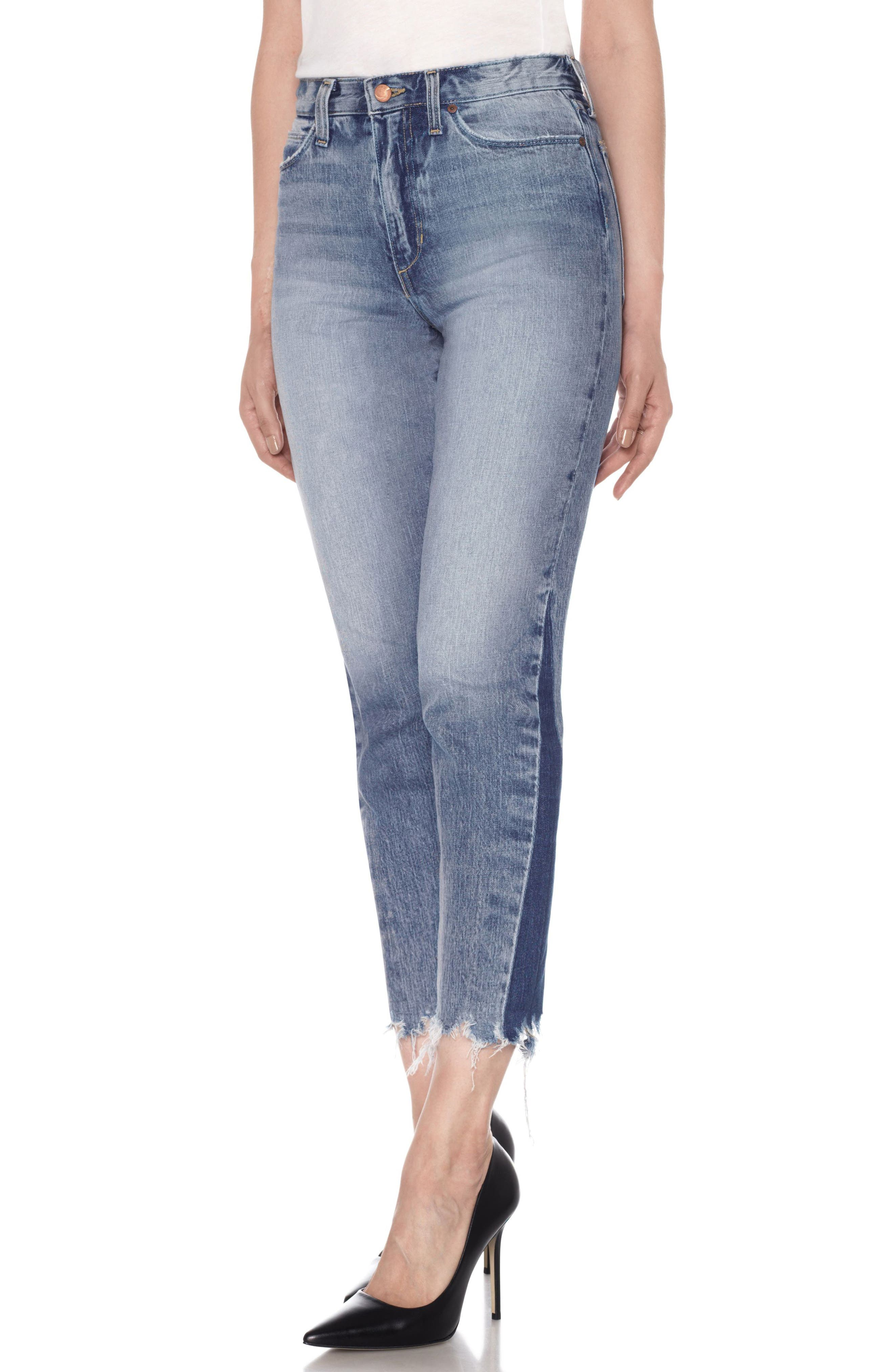 Alternate Image 1 Selected - Joe's Smith Ankle Slim Boyfriend Jeans (Prairie)