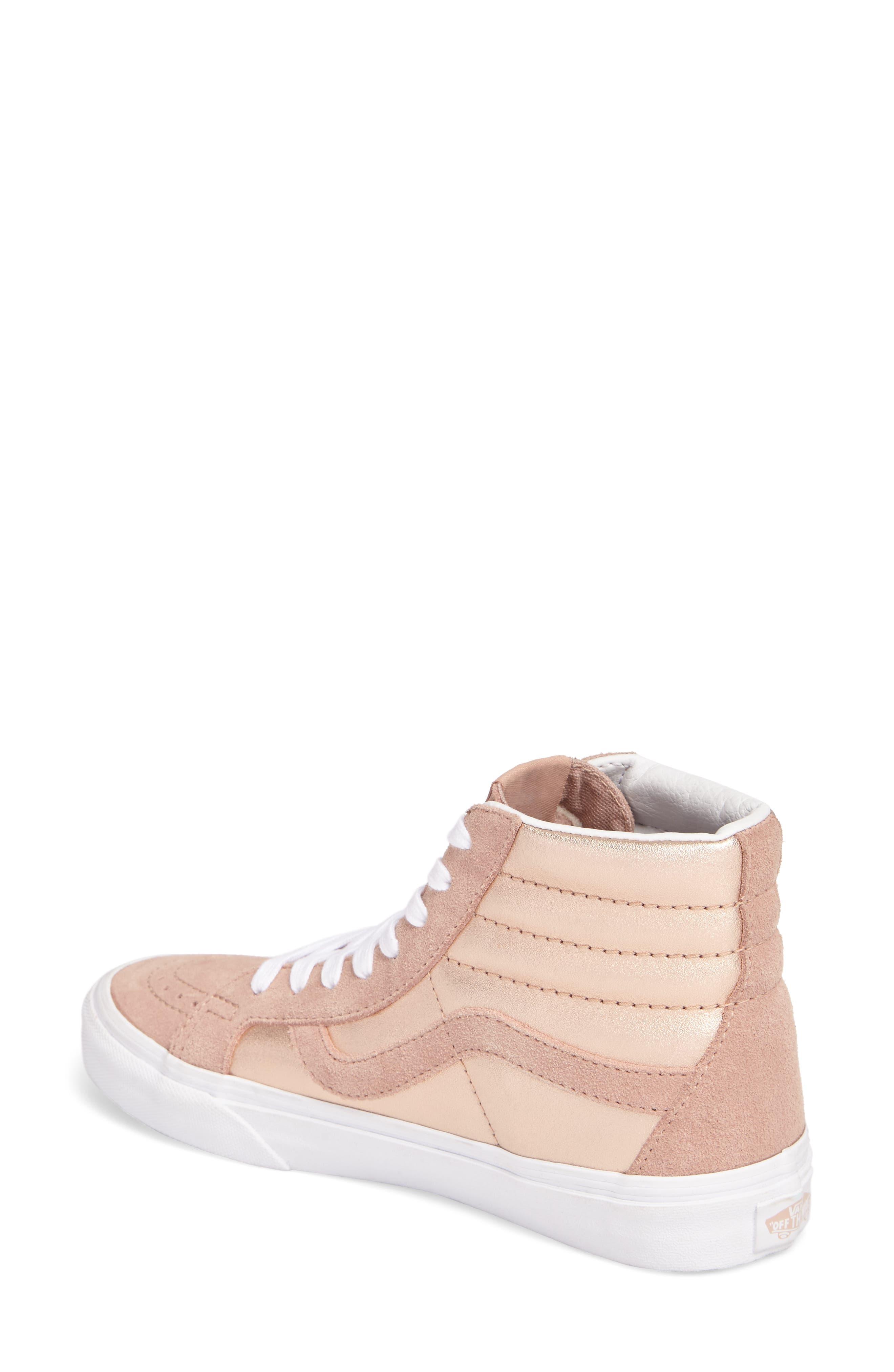 Alternate Image 2  - Vans 'Sk8-Hi Reissue' Sneaker (Women)