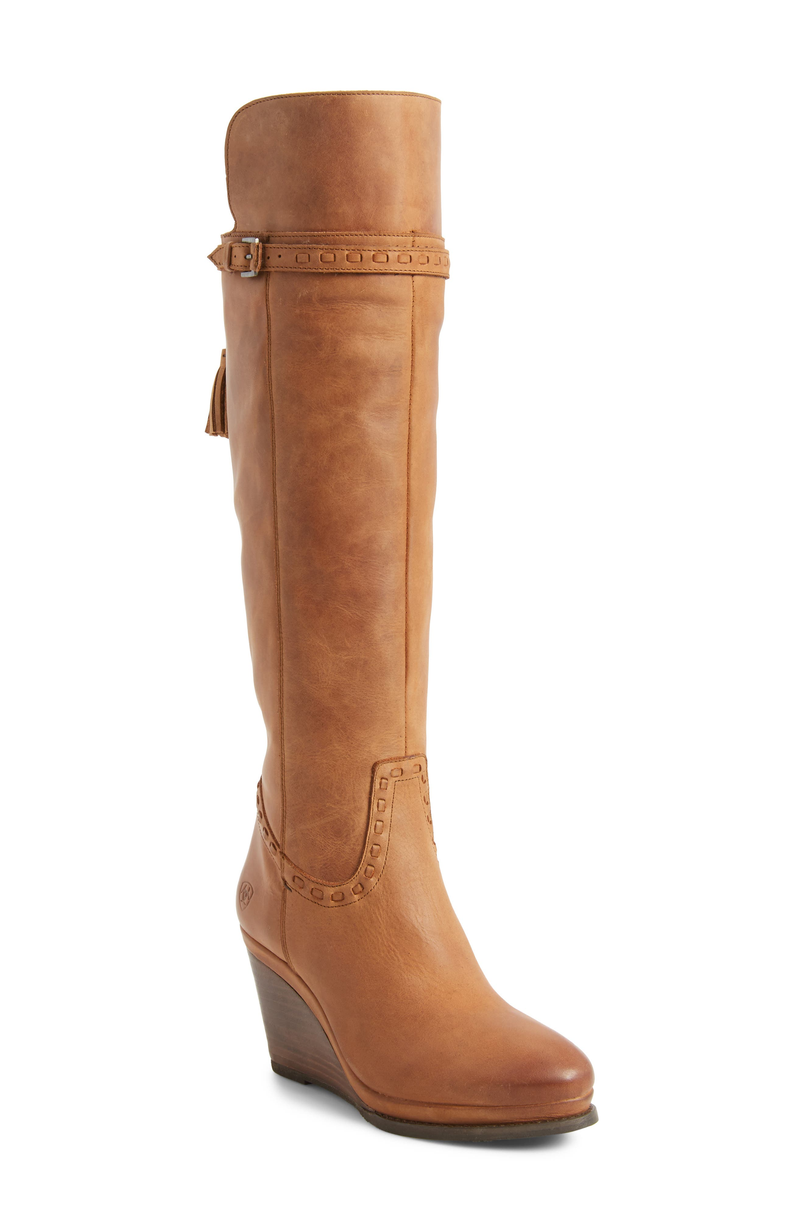 Knoxville Boot,                             Main thumbnail 1, color,                             Trendy Tawny Leather