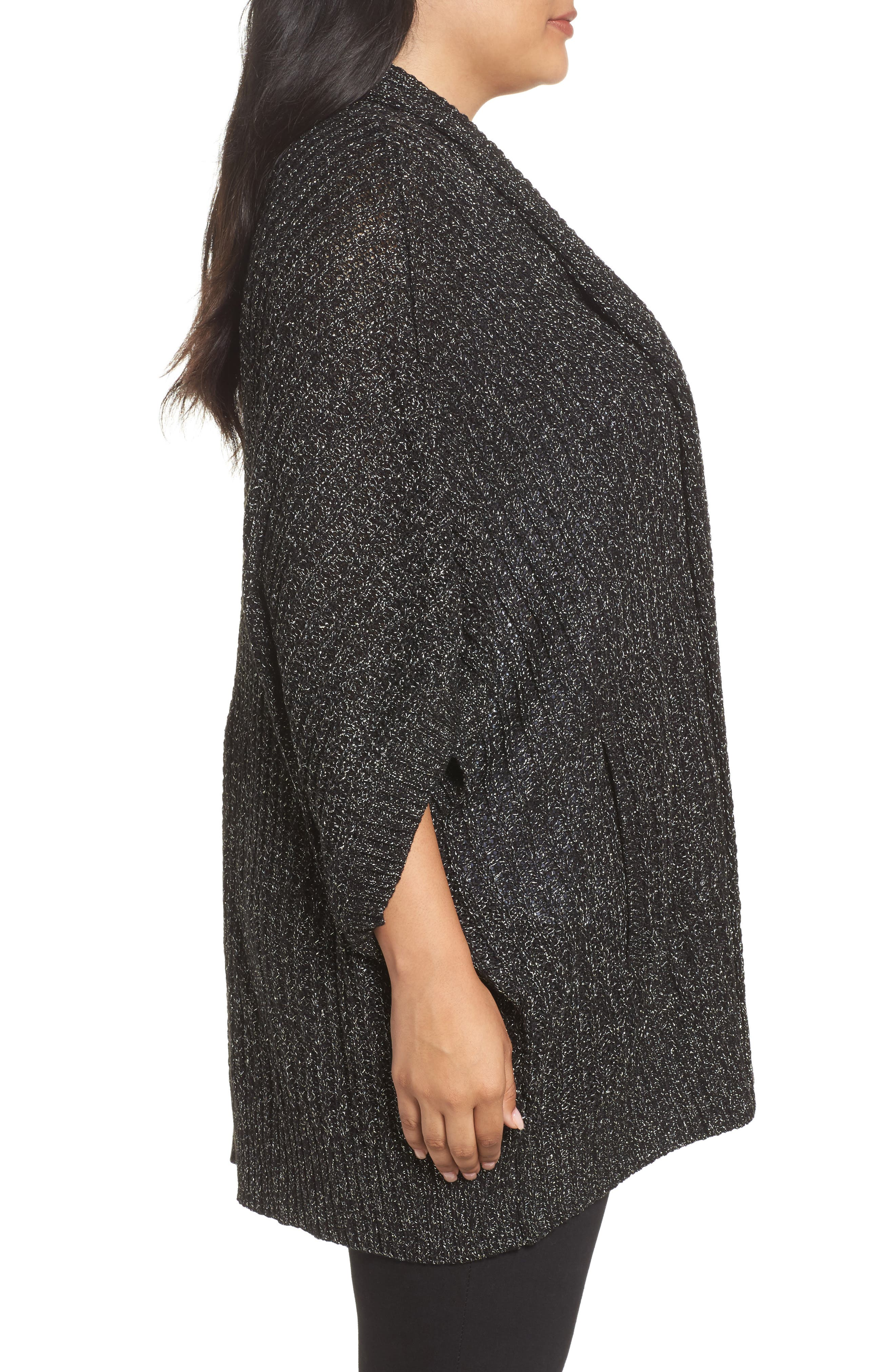 Alternate Image 3  - Melissa McCarthy Seven7 Cocoon Cardigan (Plus Size)