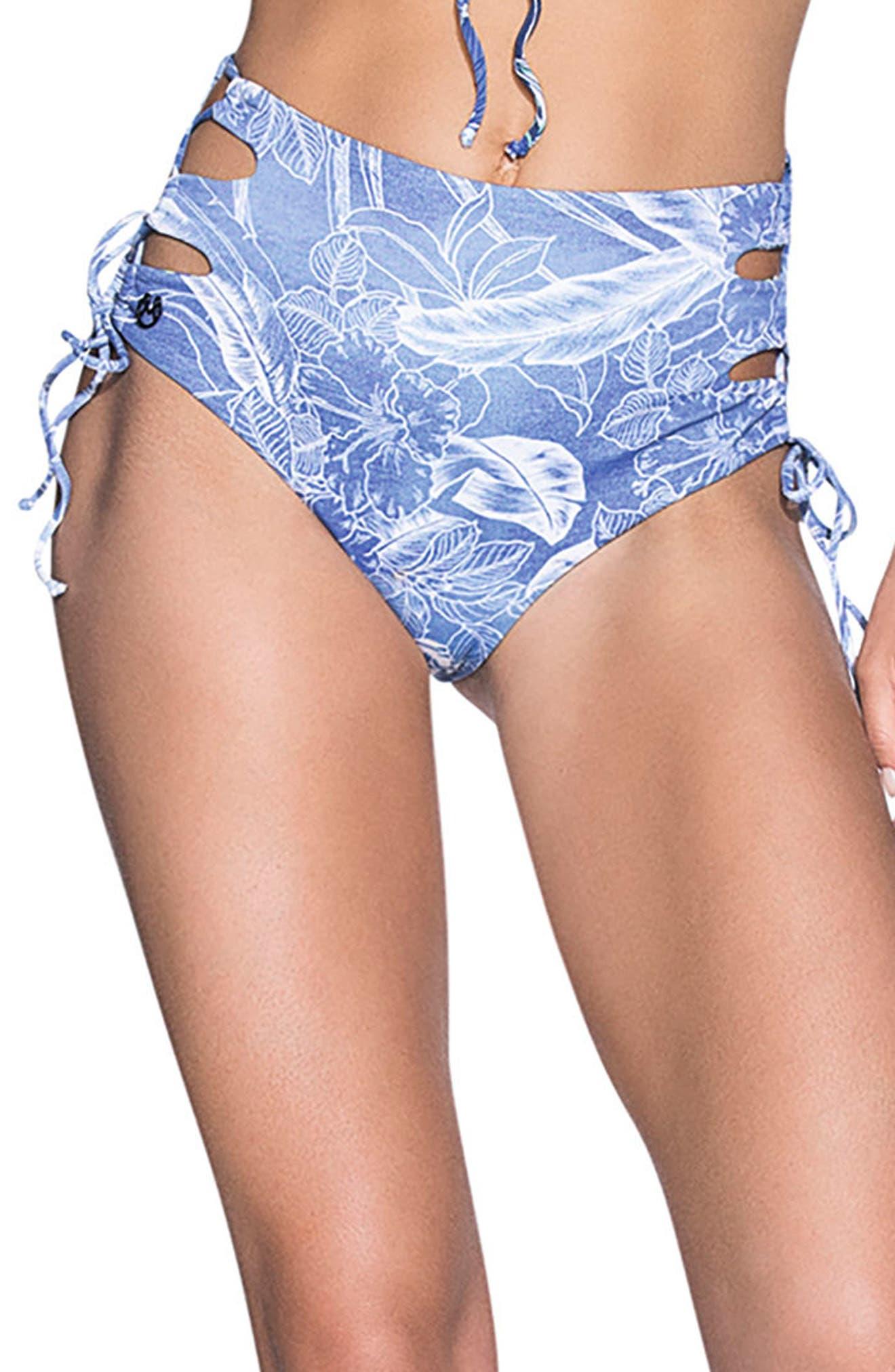 Maaji Amazon River Signature Cut Reversible Bikini Bottoms