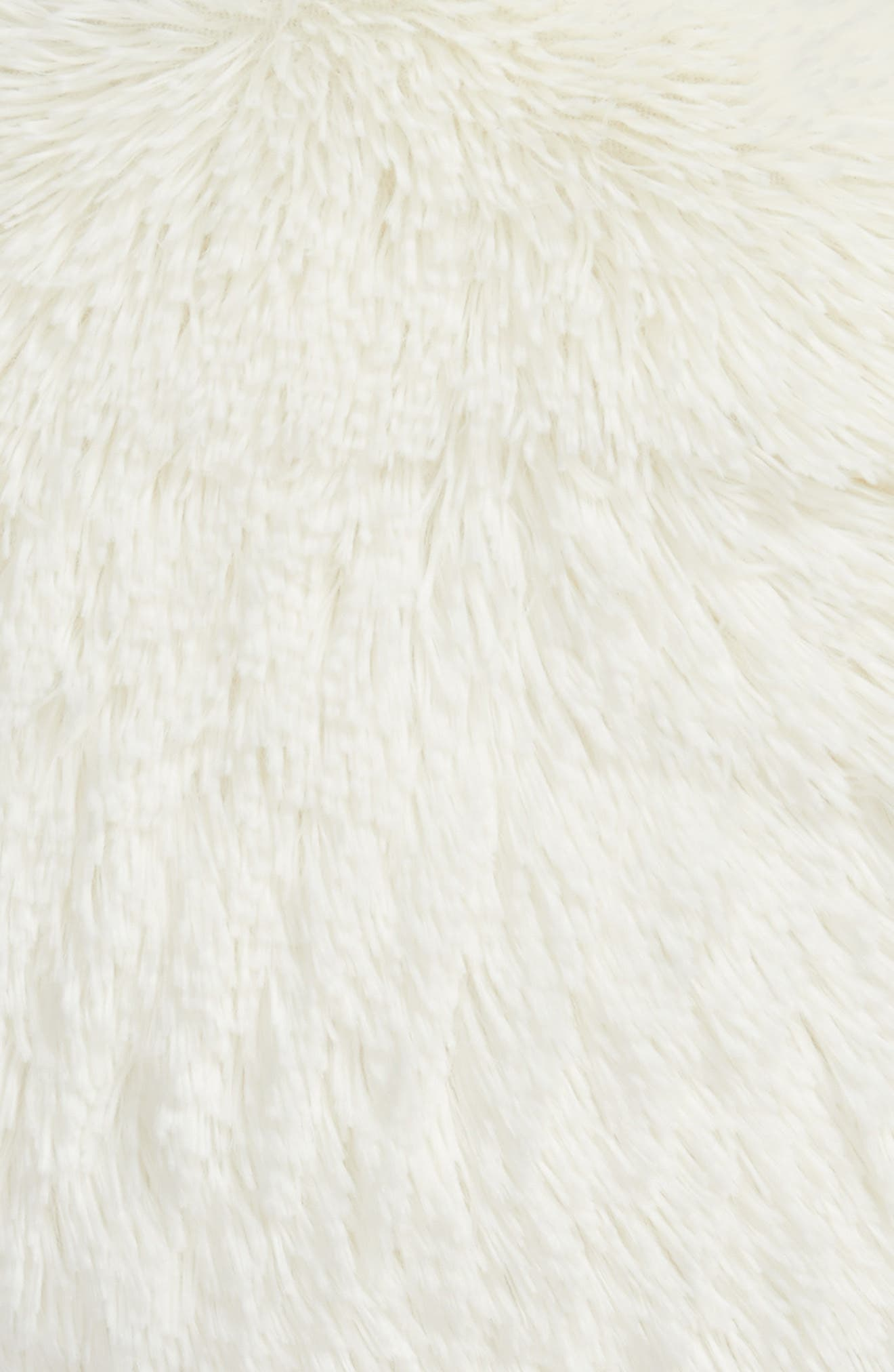 Alternate Image 2  - Nordstrom at Home Feather Faux Fur Pillow