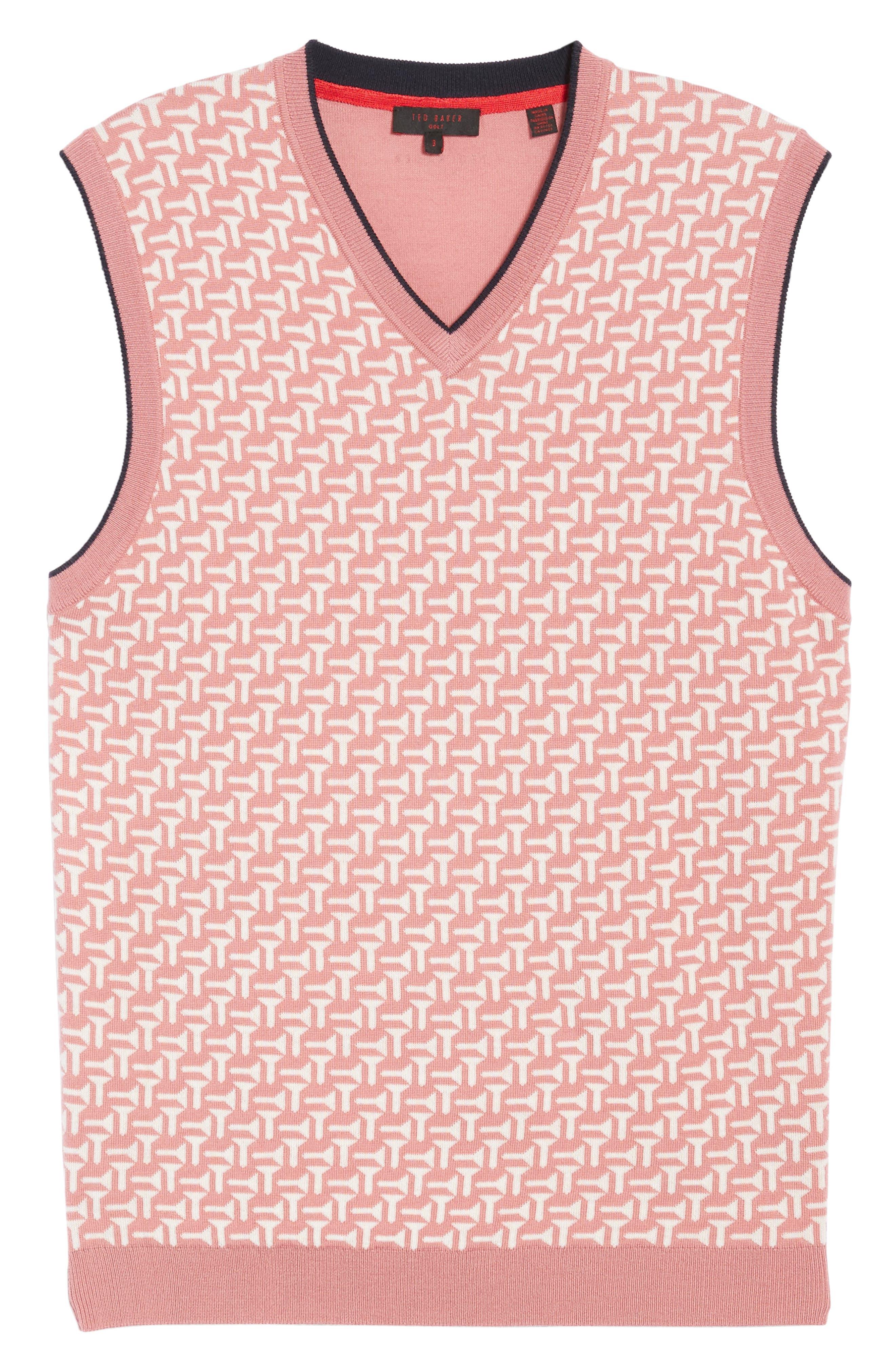 Alternate Image 6  - Ted Baker London Tommas Golf Merino Sweater Vest