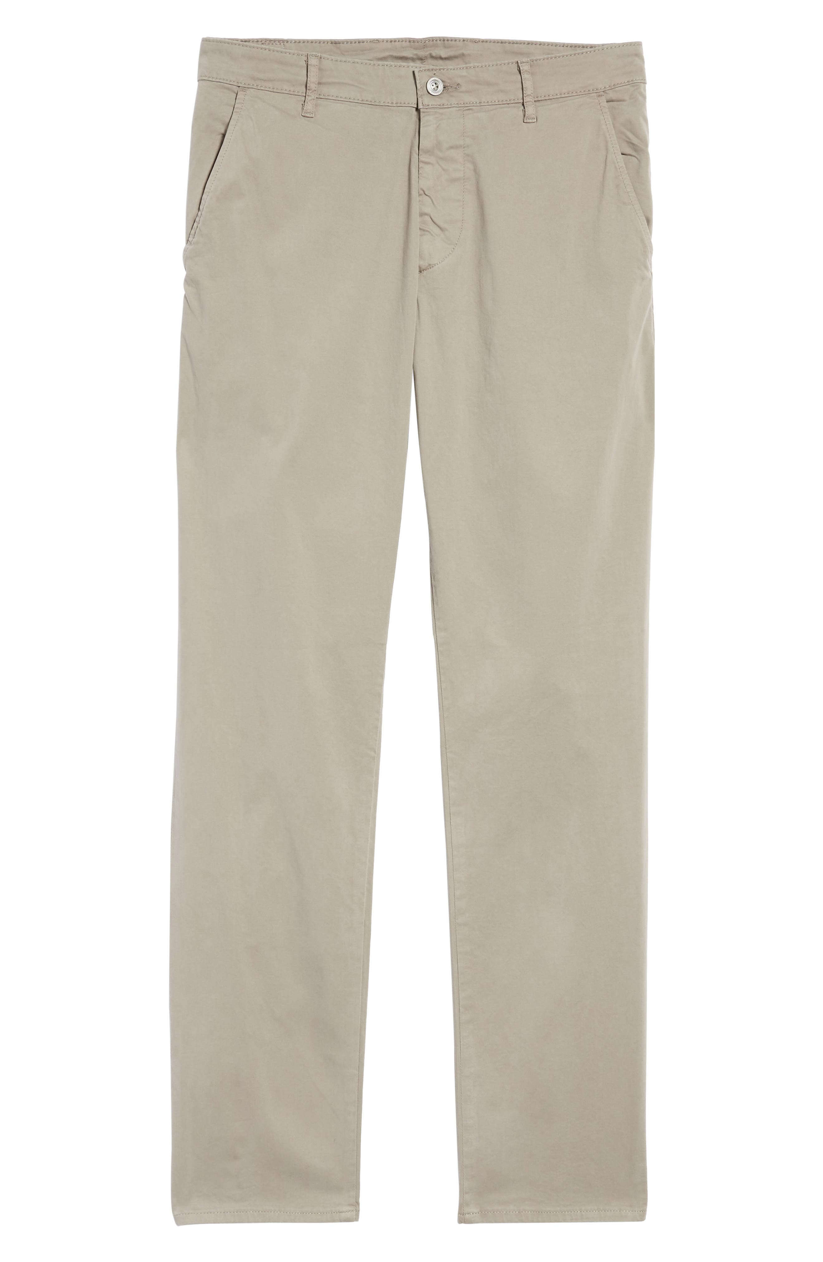 'The Lux' Tailored Straight Leg Chinos,                             Alternate thumbnail 6, color,                             Stucco