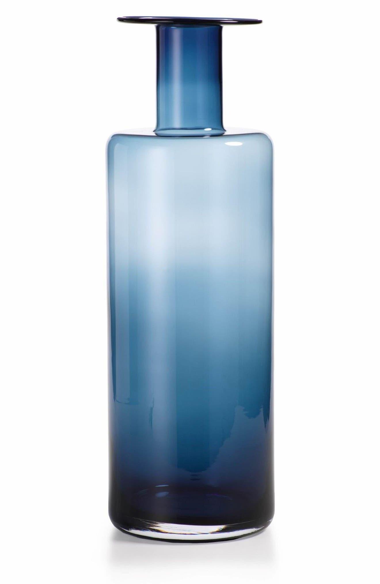 La Sardaigne Vase,                         Main,                         color, Blue