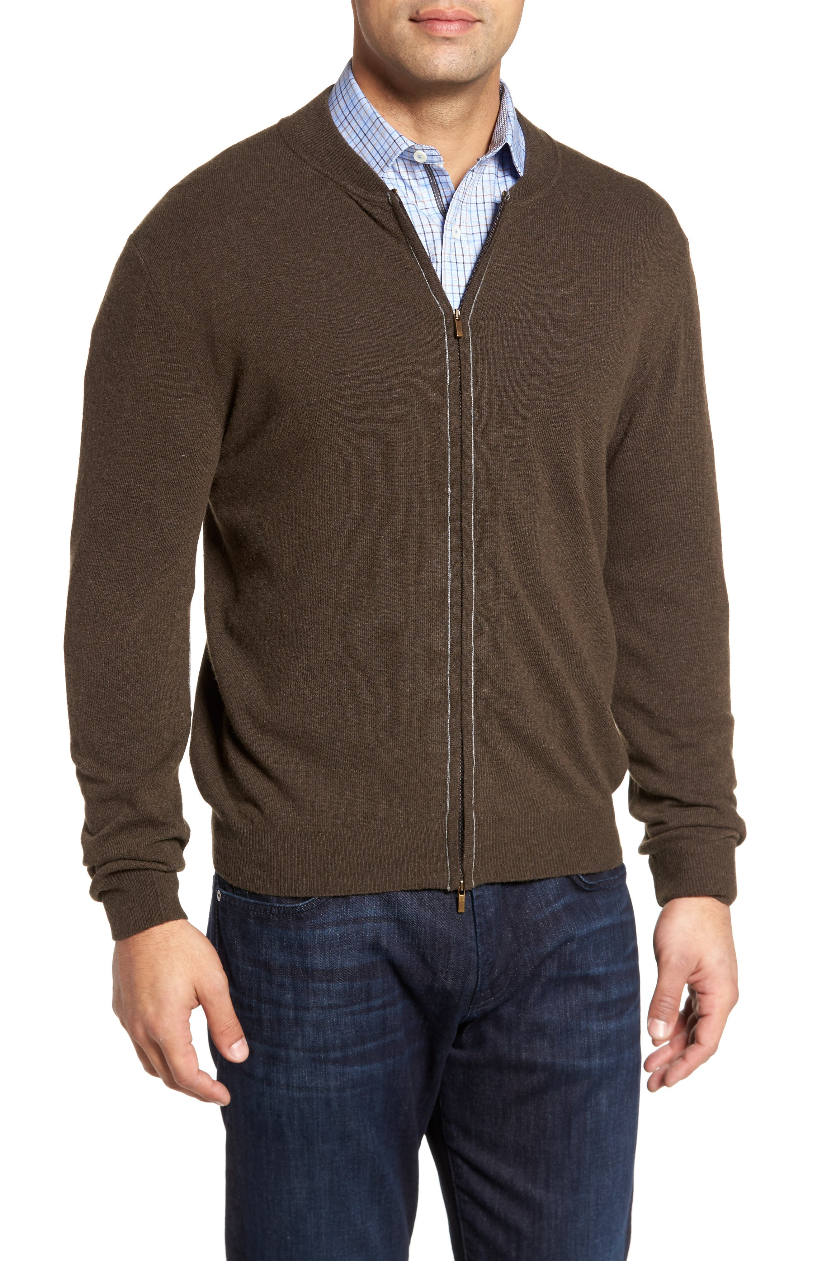 Bugatchi Zip Sweater