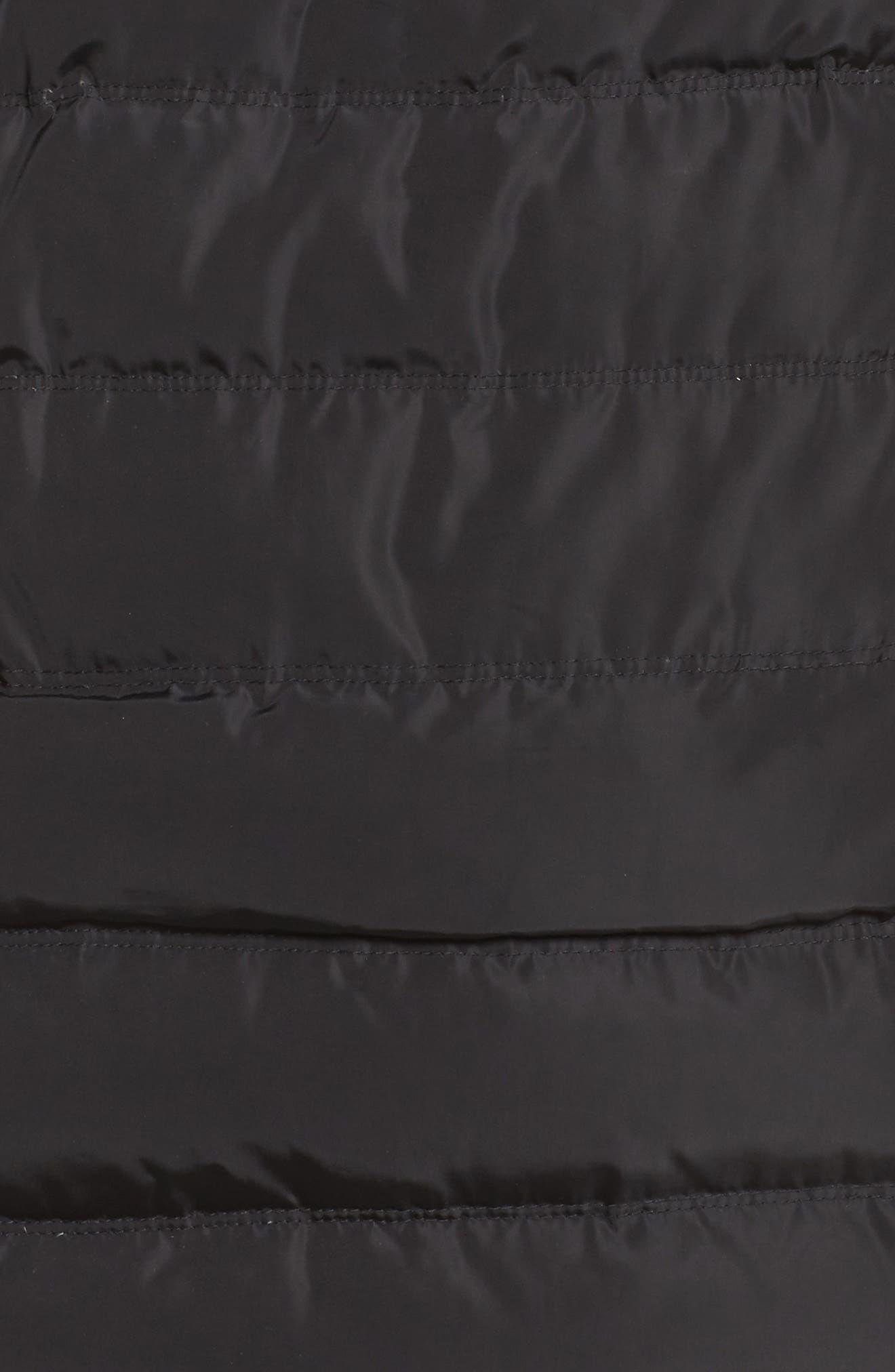 Alternate Image 5  - MICHAEL Michael Kors Down & Feather Hooded Coat with Faux Fur Trim (Plus Size)