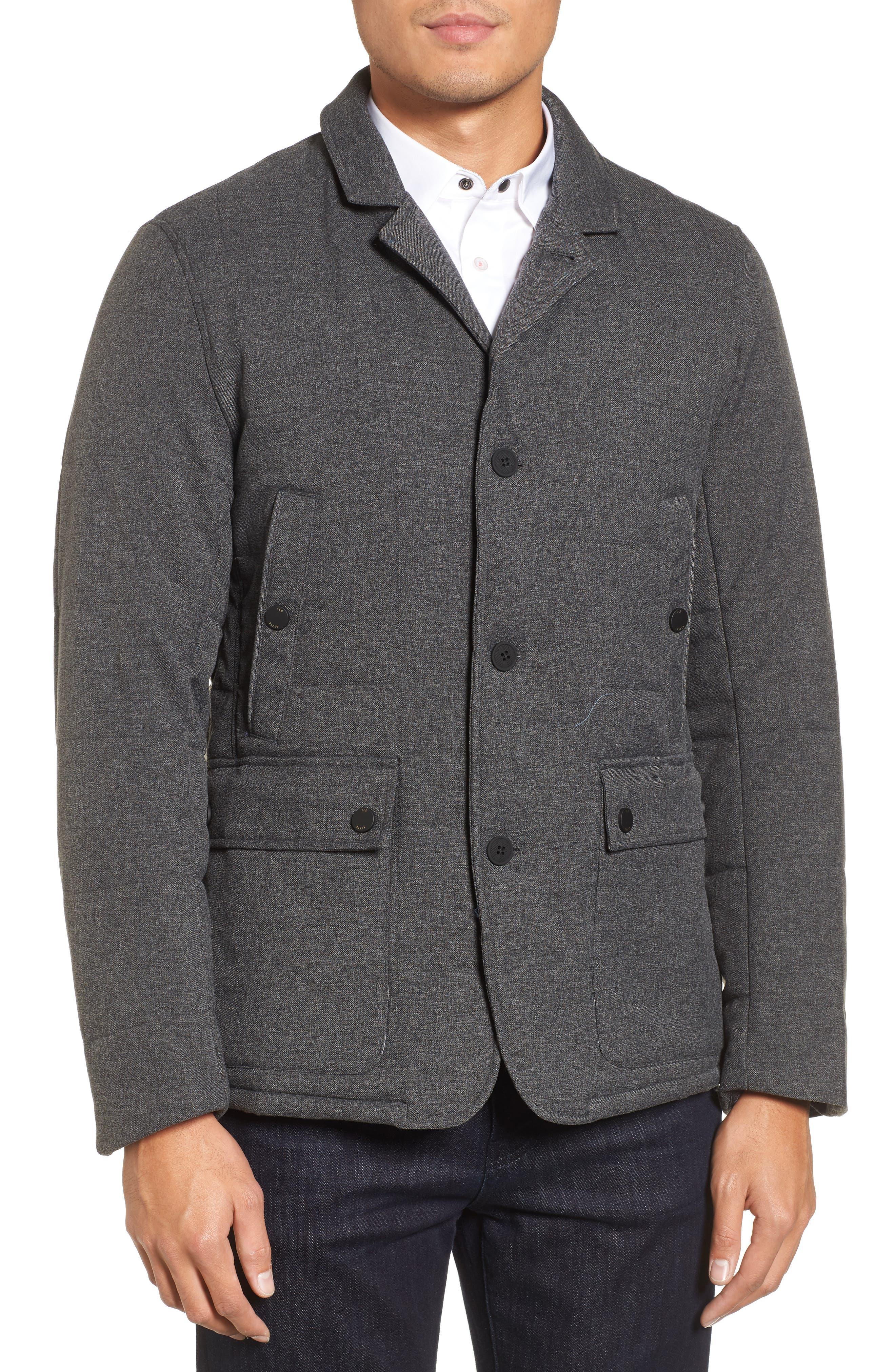 Alternate Image 4  - Ted Baker London Jaycie Inset Bib Quilted Jacket