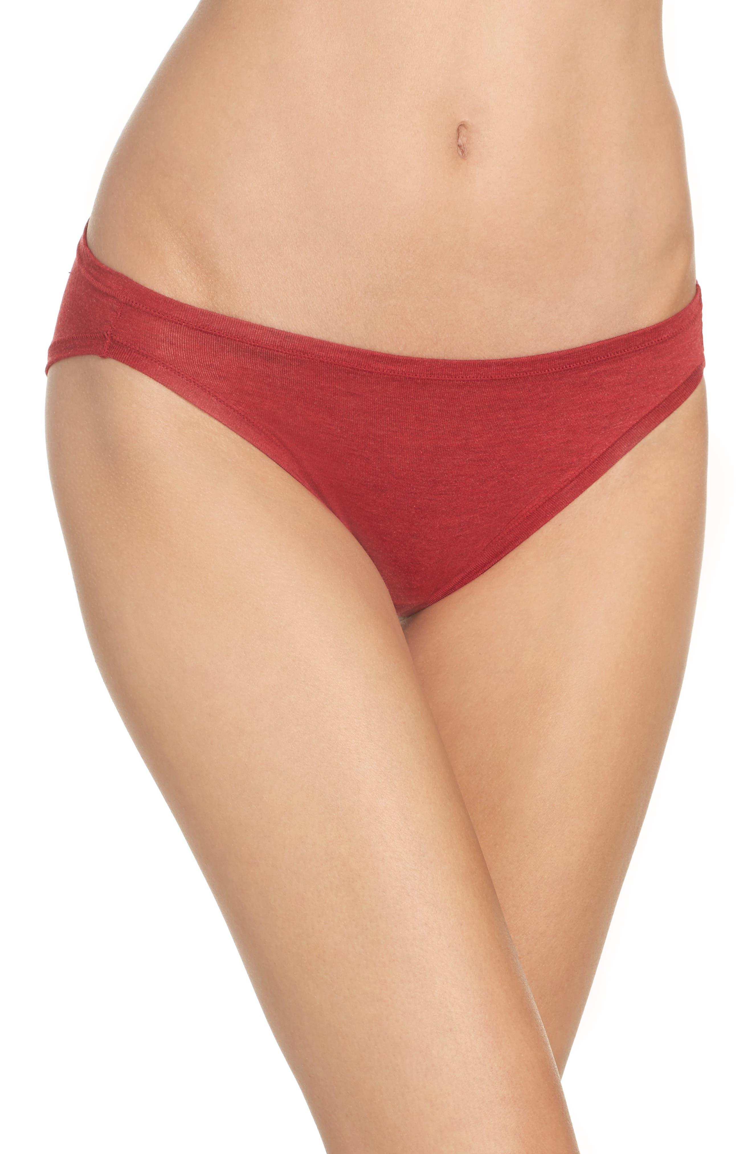 Alternate Image 1 Selected - Natori Bliss Essence Bikini (3 for $45)