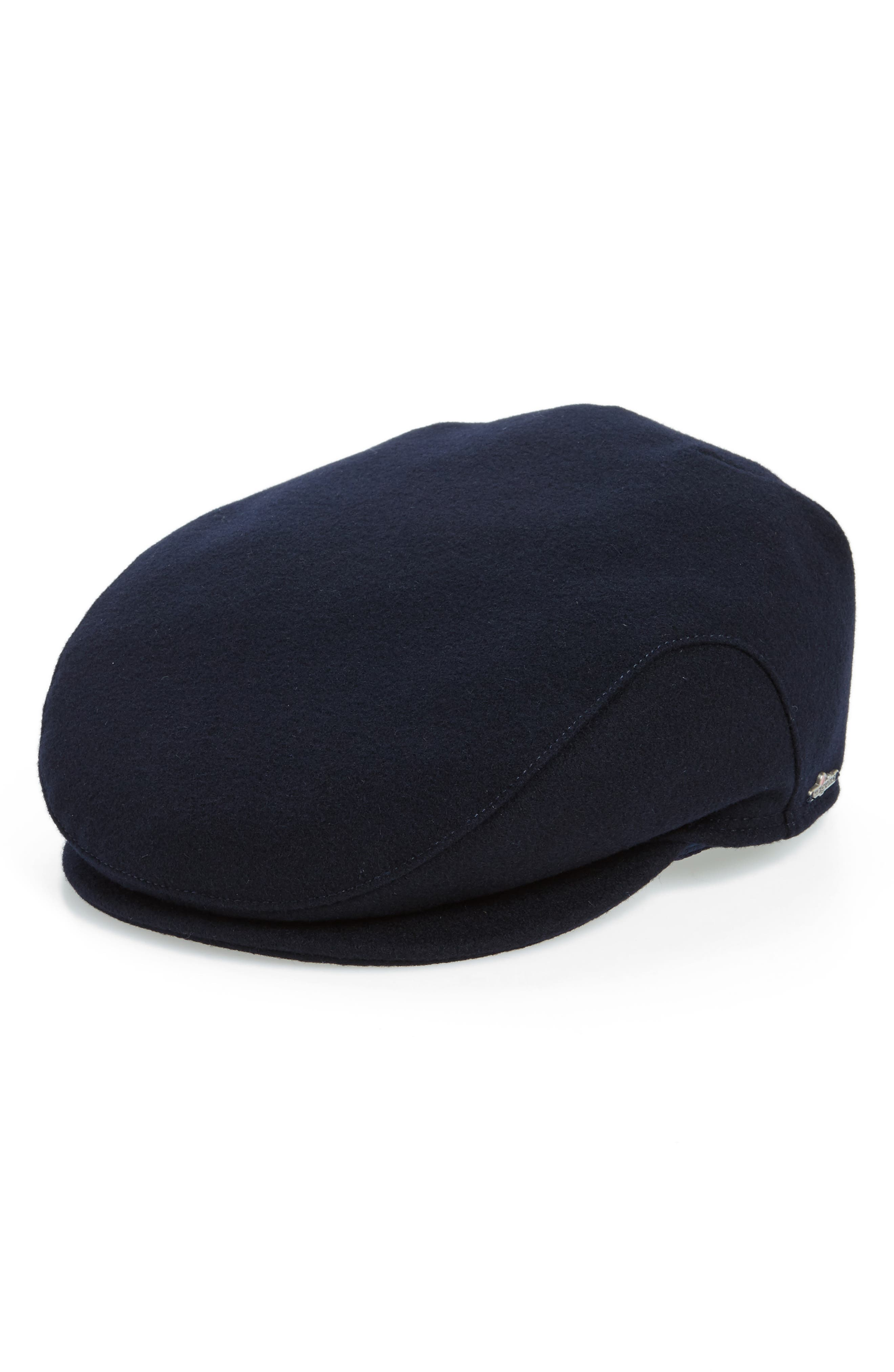 Wigens Melton Wool Driving Cap