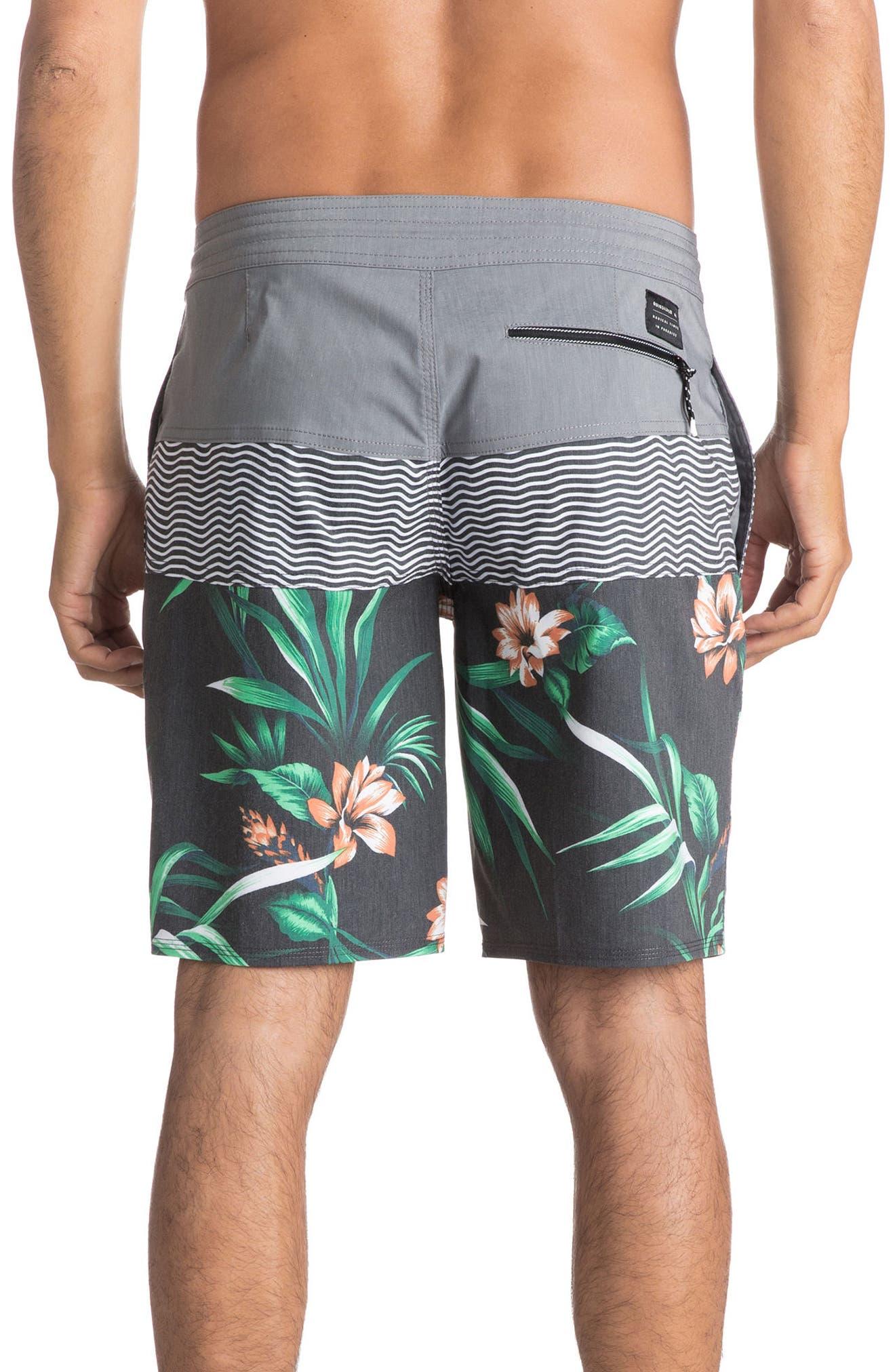 Heatwave Blocked Board Shorts,                             Alternate thumbnail 2, color,                             Quiet Shade