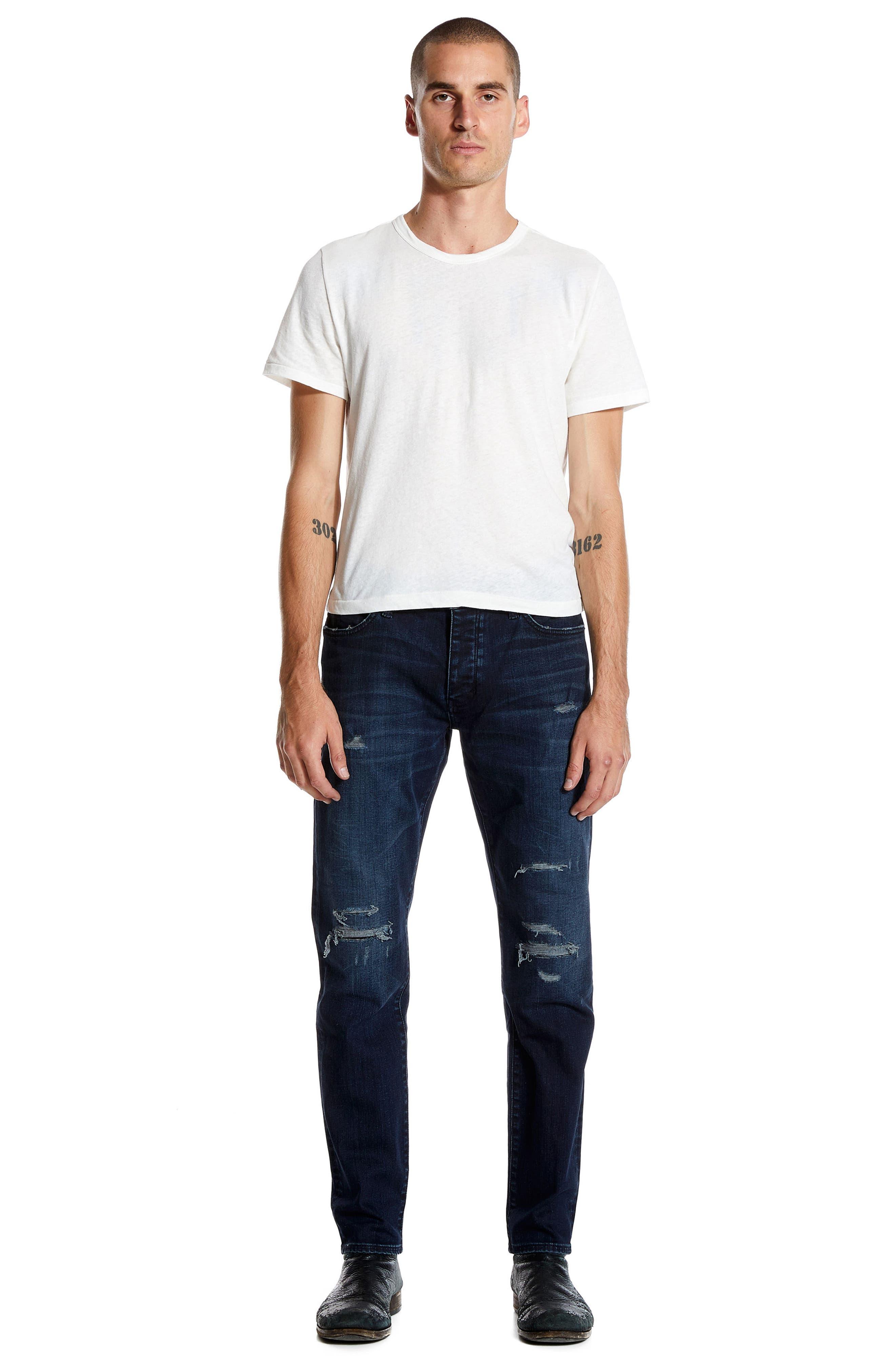 Alternate Image 4  - NEUW Lou Slim Fit Jeans (Repair)