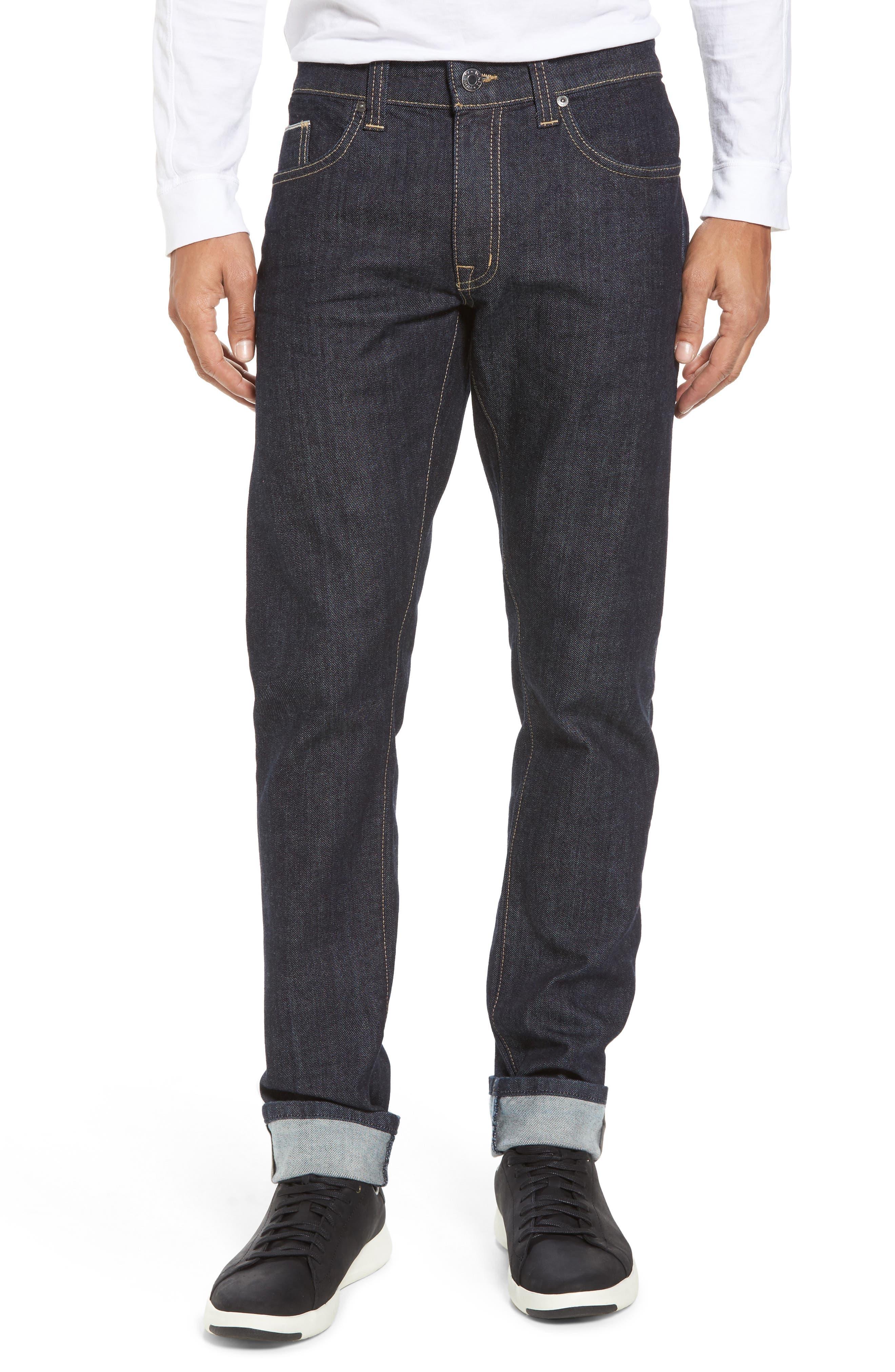 Alternate Image 1 Selected - Fidelity Denim Torino Slim Fit Jeans (Akiba)