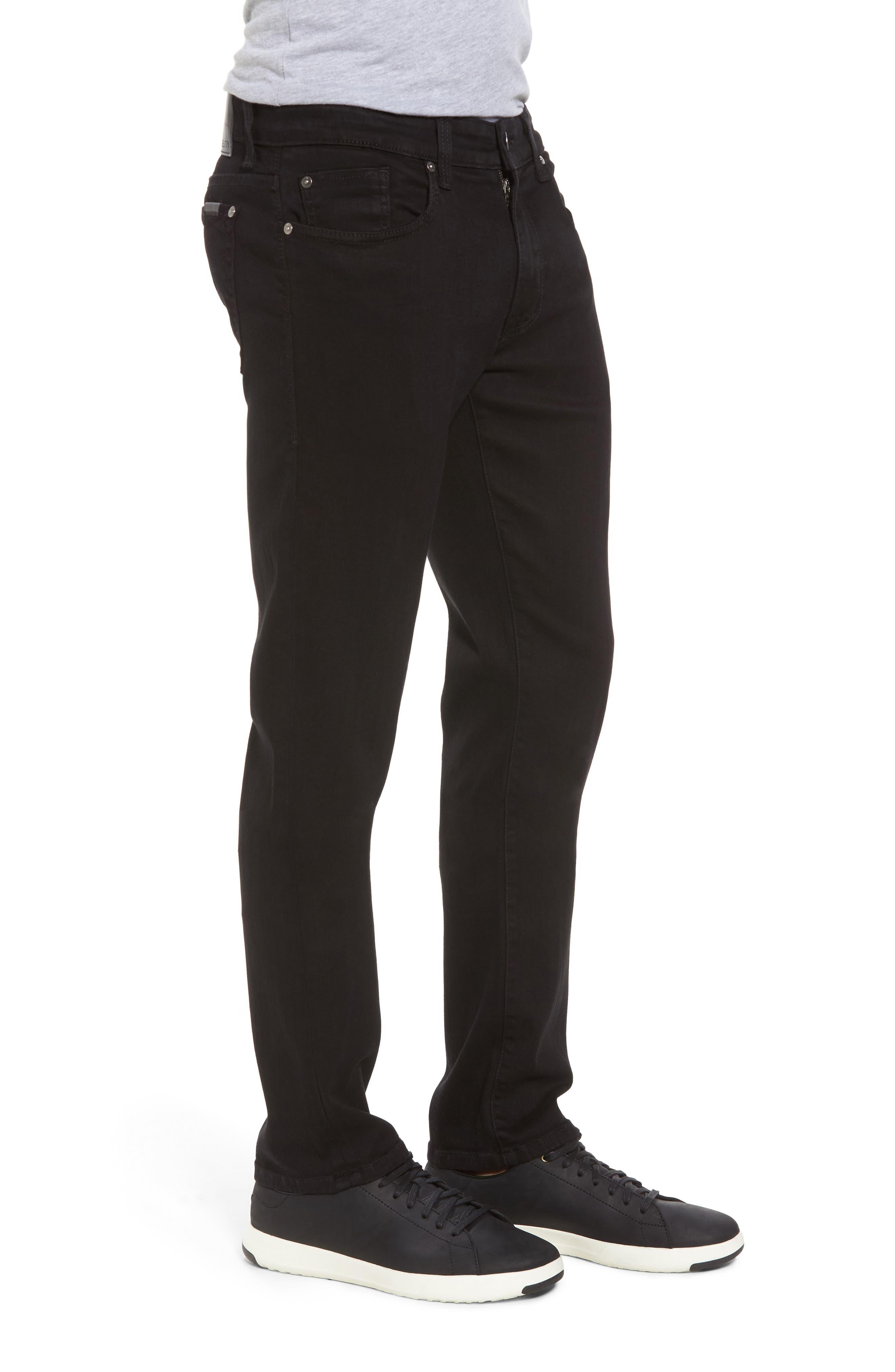 Torino Slim Fit Jeans,                             Alternate thumbnail 3, color,                             Everblack