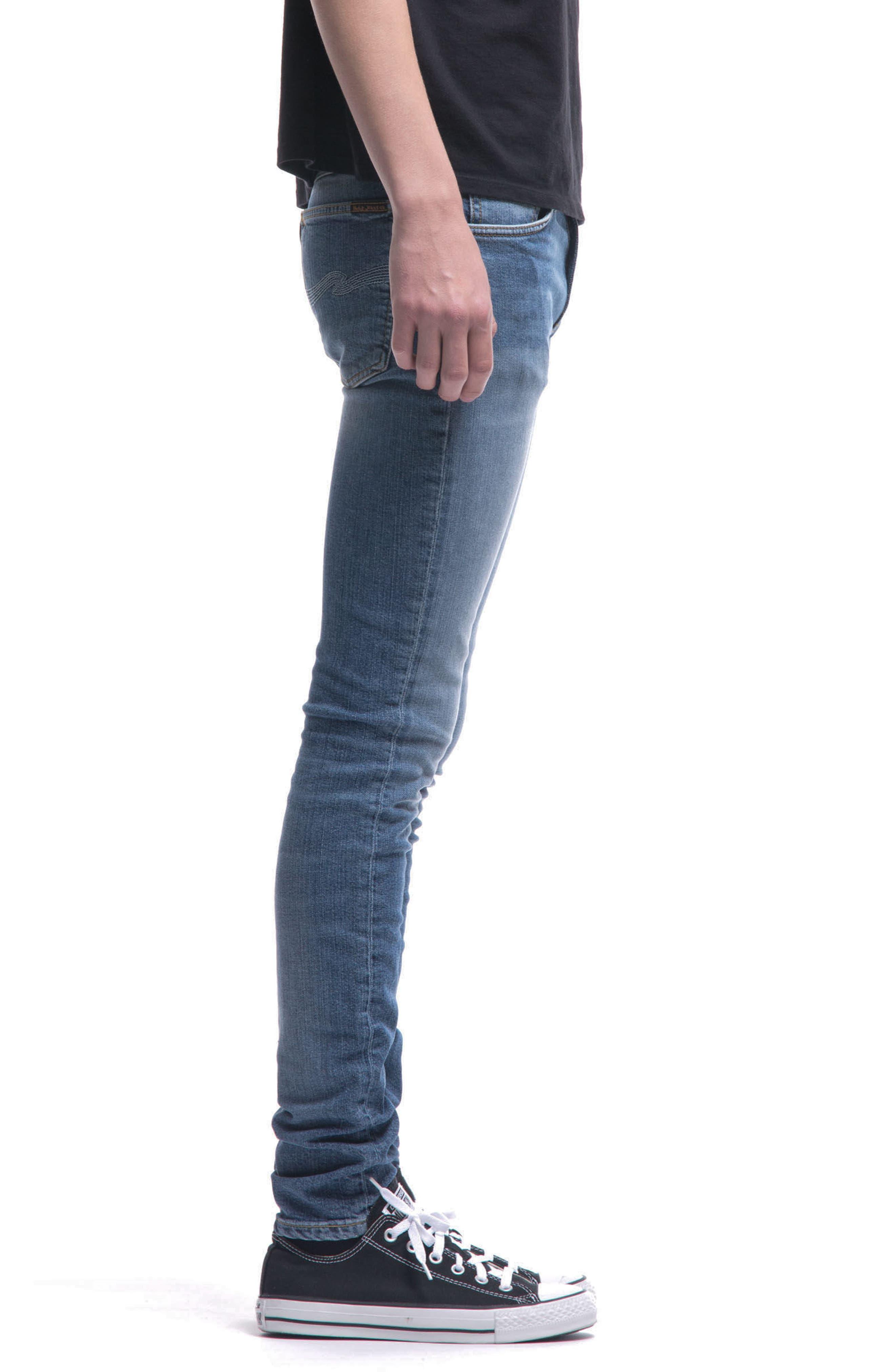 Alternate Image 2  - Nudie Jeans Skinny Lin Skinny Fit Jeans (Celestial)