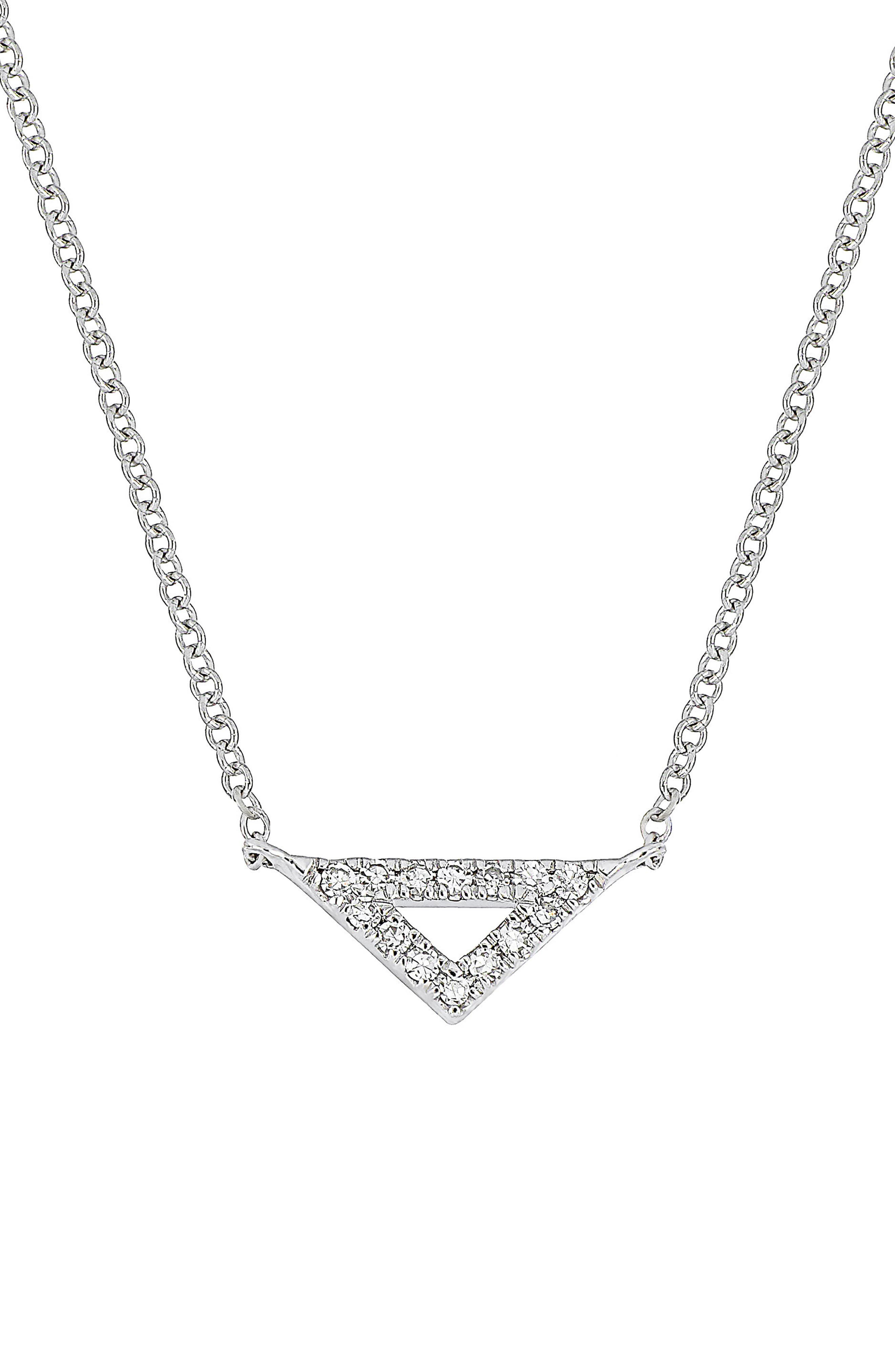 Carrière Diamond Triangle Pendant (Nordstrom Exclusive)