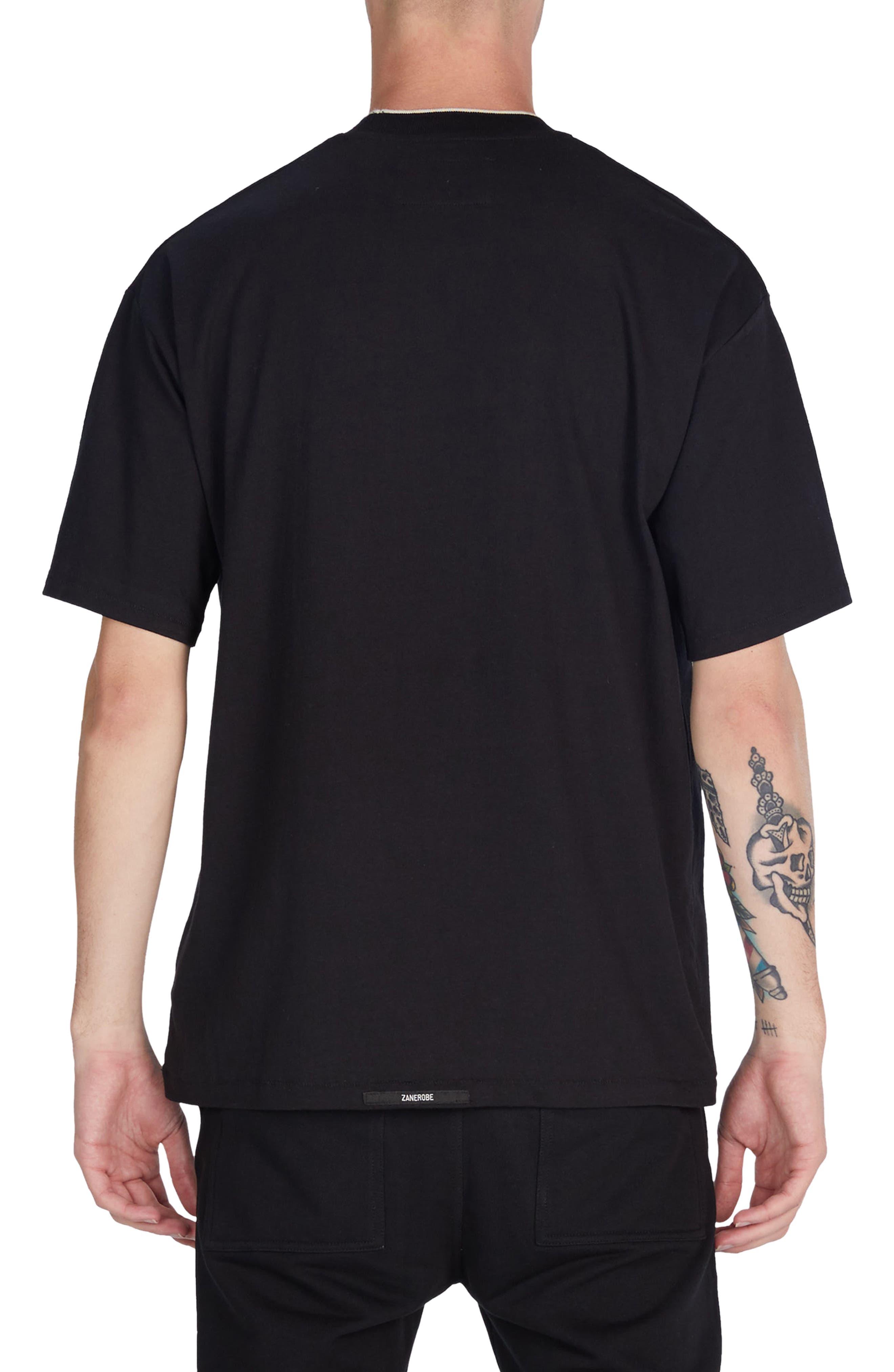 Tip Box T-Shirt,                             Alternate thumbnail 2, color,                             Black