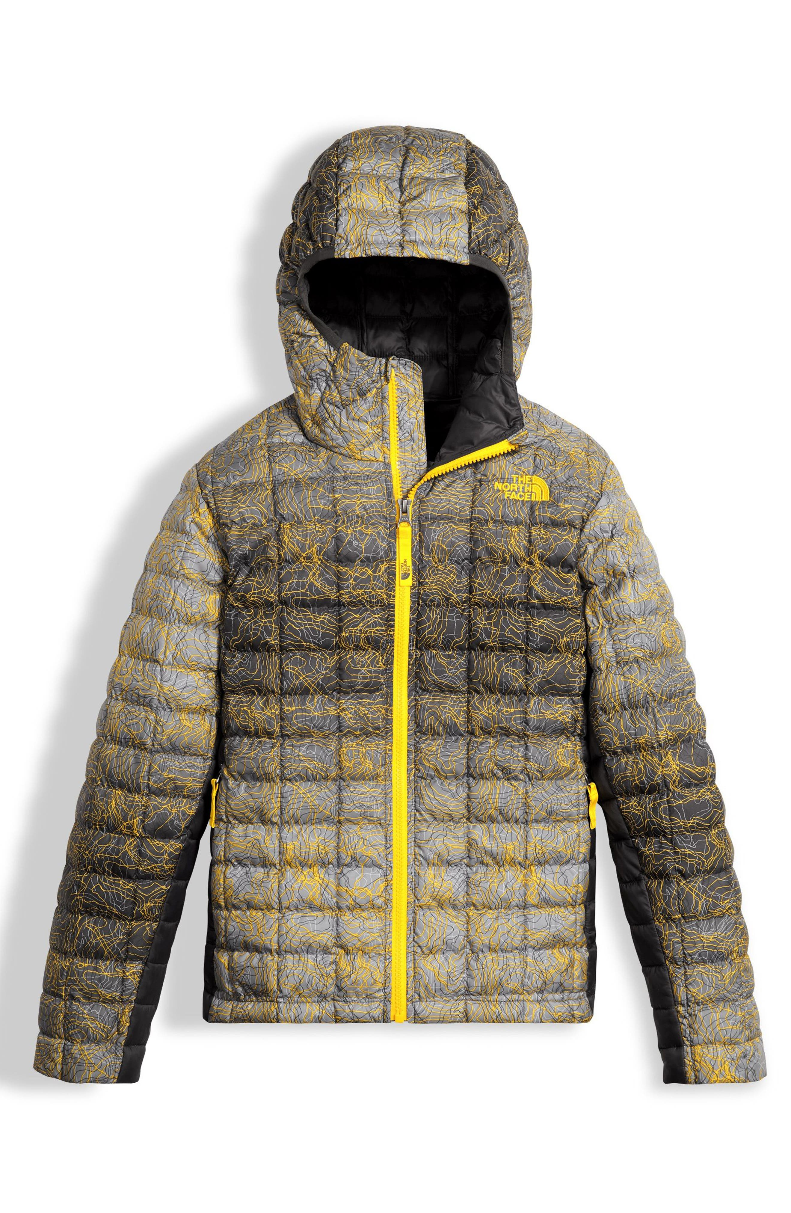 Main Image - The North Face ThermoBall™ PrimaLoft® Hooded Jacket (Big Boys)