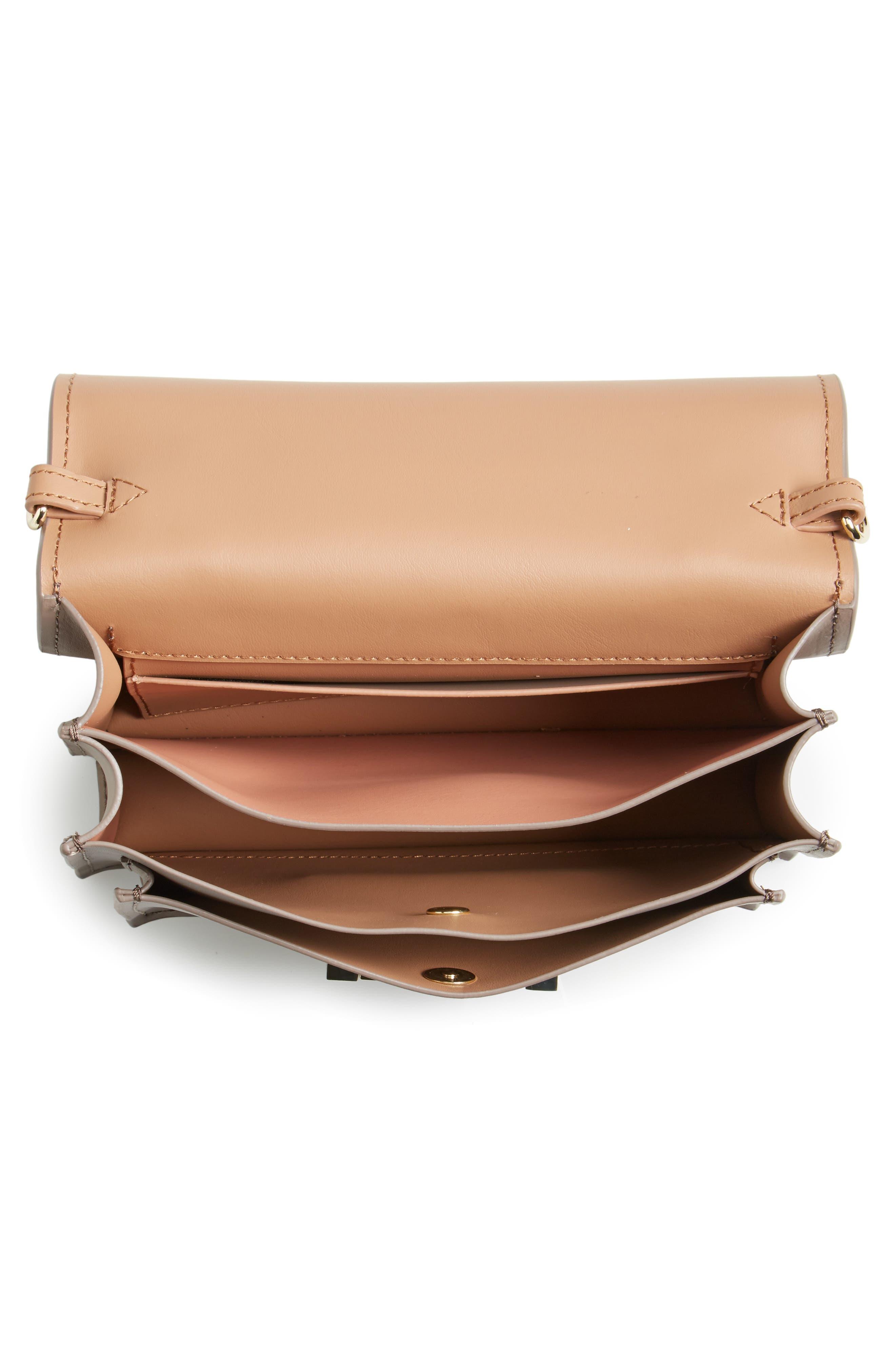 Alternate Image 3  - ZAC Zac Posen Earthette Leather Accordion Bag