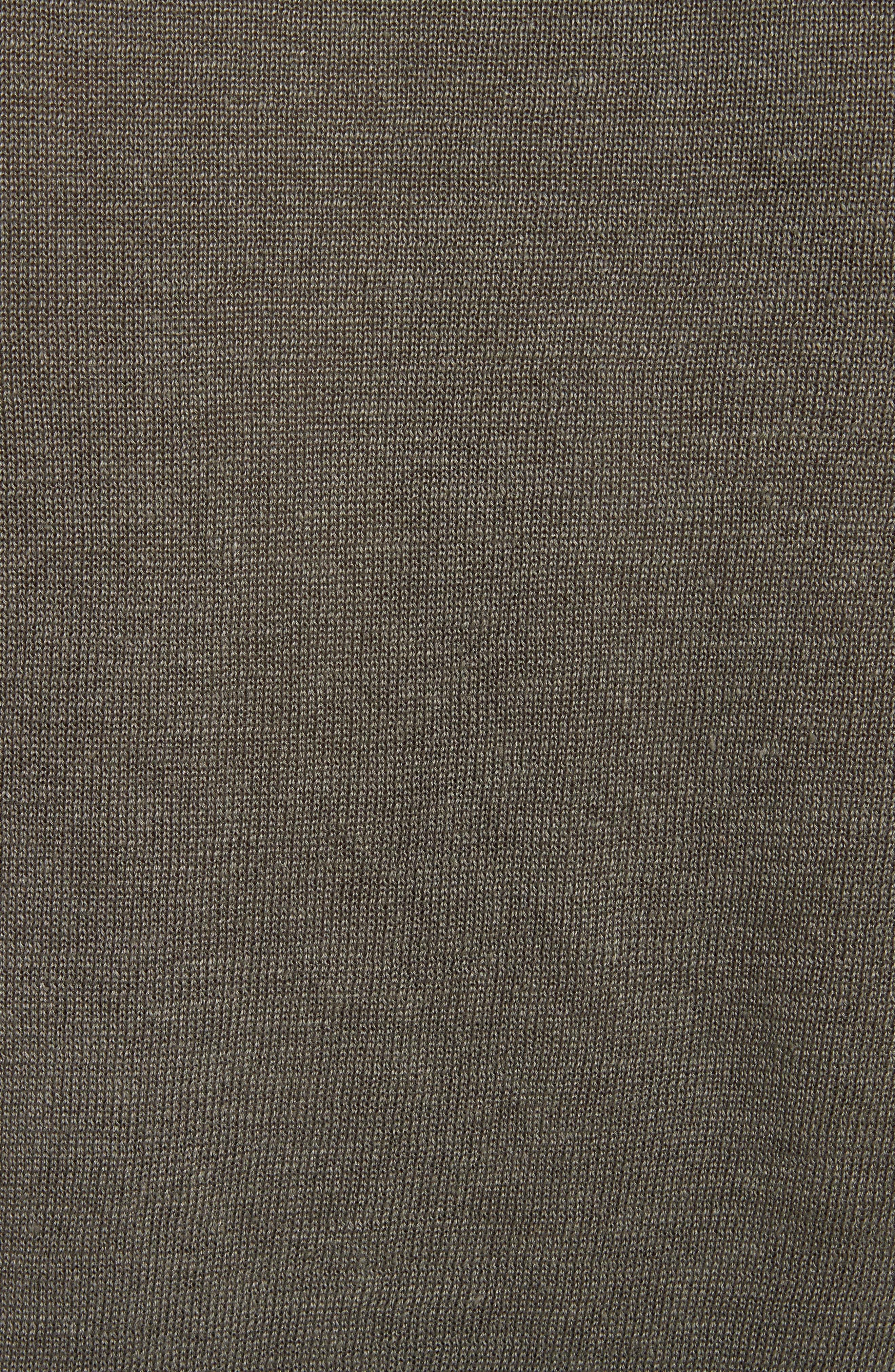 Alternate Image 5  - Belstaff Exford Linen Crewneck Sweater