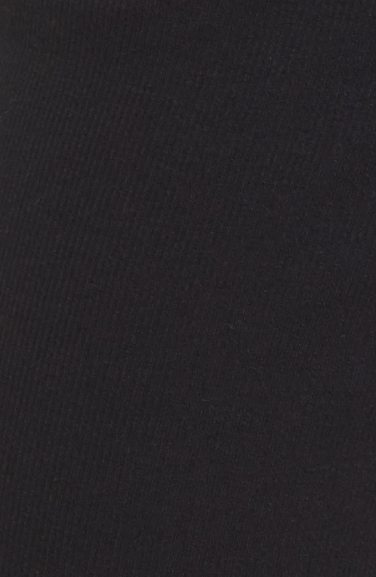 Carmin Crop Lounge Pants,                             Alternate thumbnail 5, color,                             Black