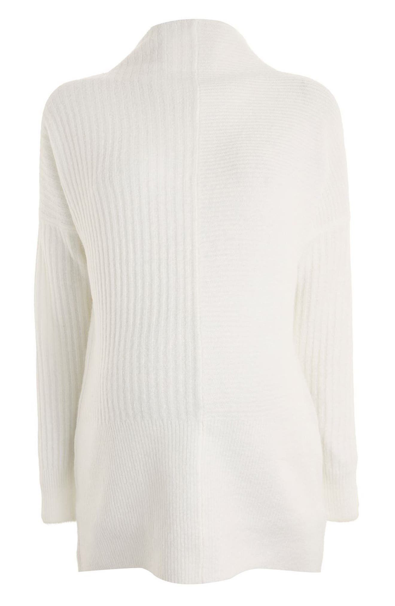 Topshop Funnel Neck Maternity Sweater