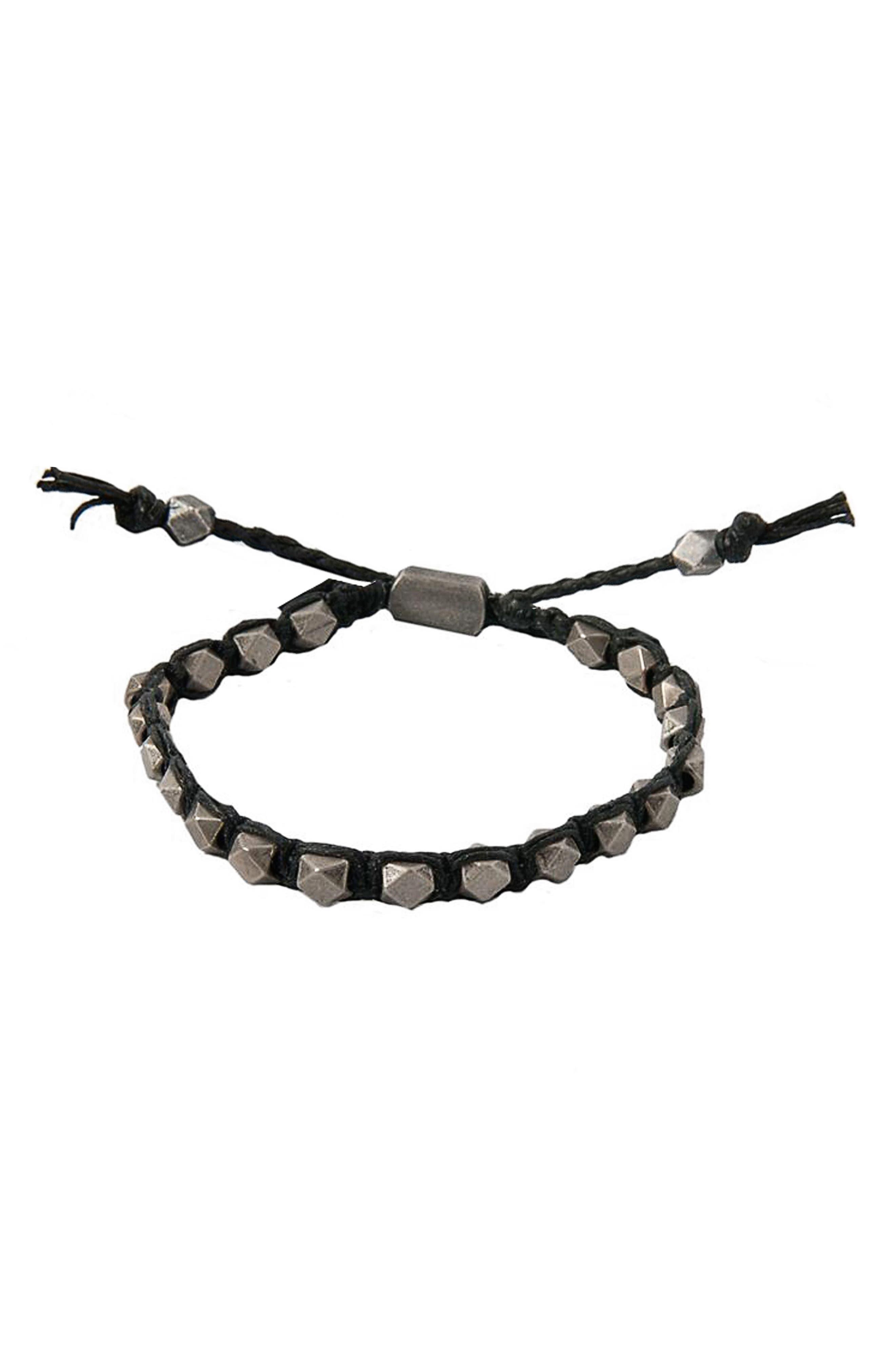 Mr. Ettika Macramé Beaded Bracelet
