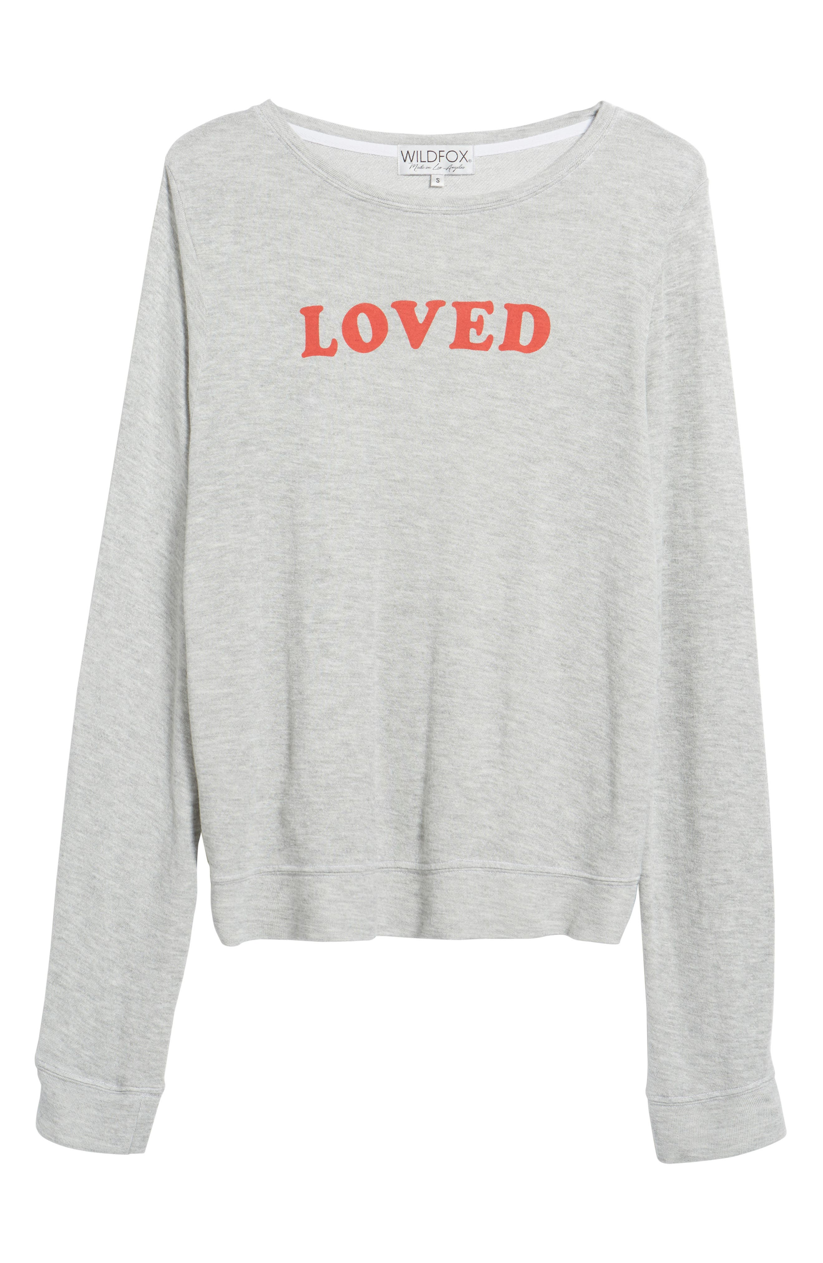 Alternate Image 6  - Wildfox Loved Sweatshirt