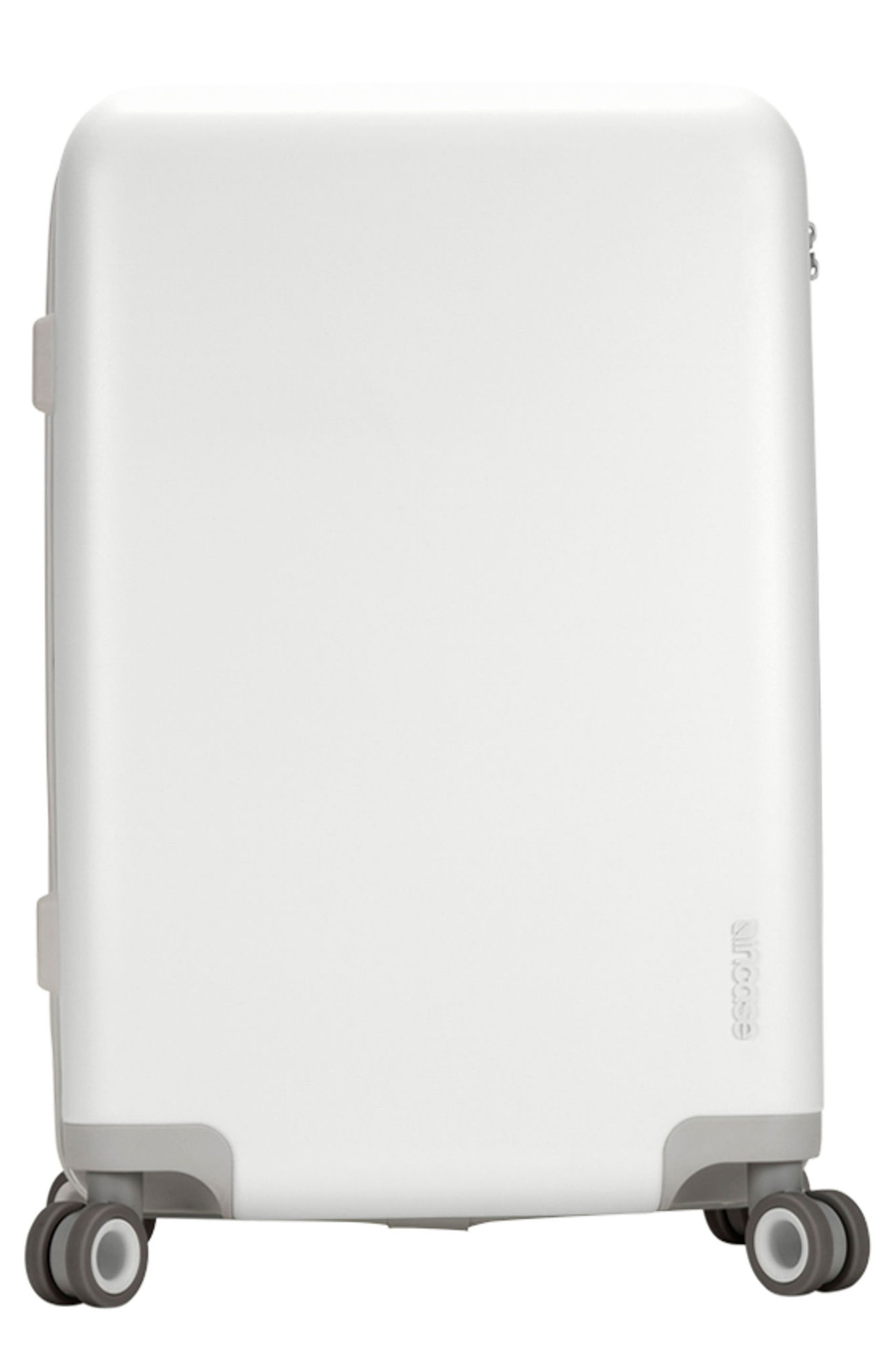 NOVI 27-Inch Hardshell Wheeled Packing Case,                             Main thumbnail 1, color,                             White