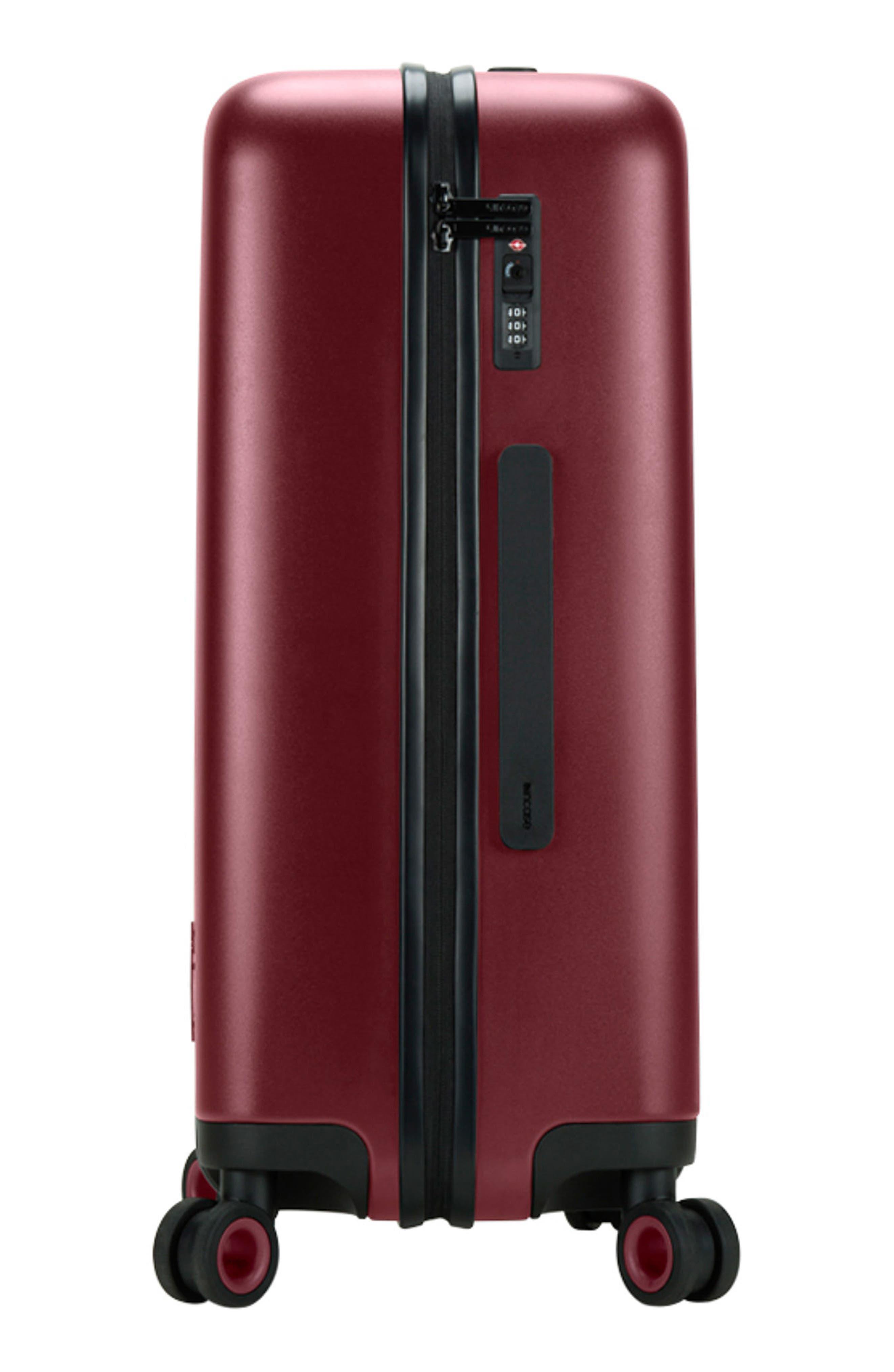 NOVI 31-Inch Hardshell Wheeled Packing Case,                             Alternate thumbnail 4, color,                             Deep Red