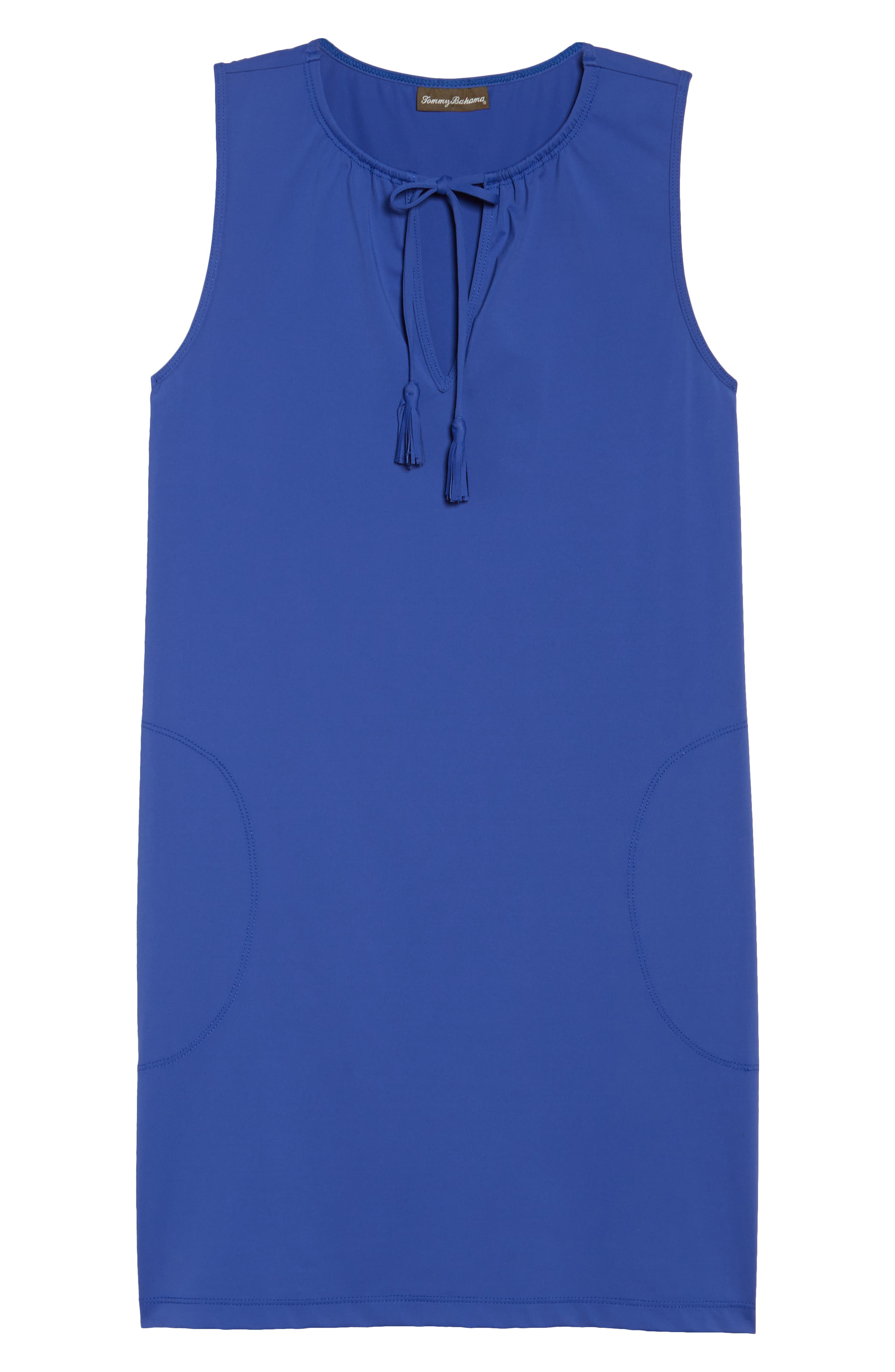 Alternate Image 4  - Tommy Bahama 'Pearl' Split Neck Cover-Up Dress