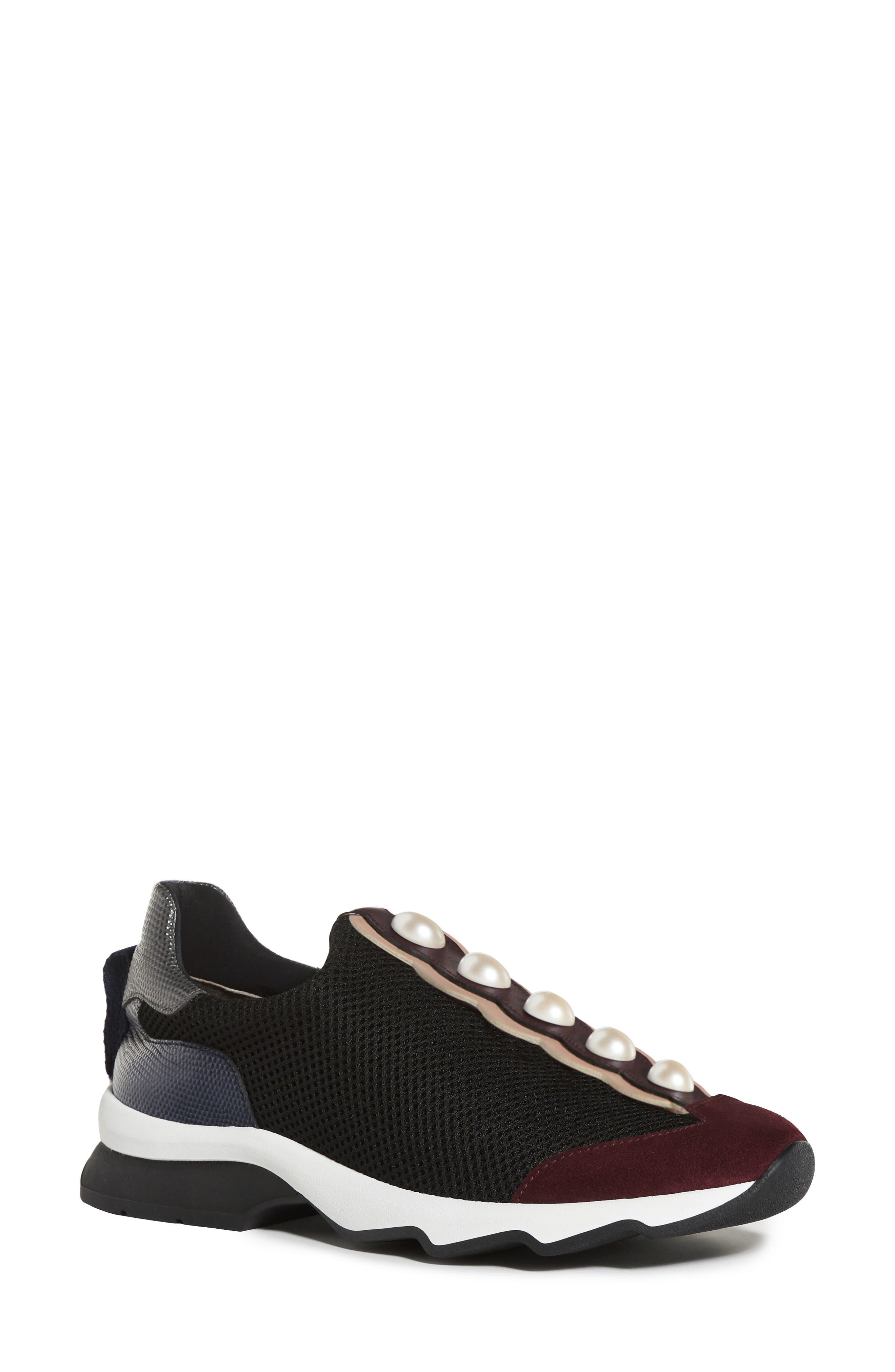 Alternate Image 1 Selected - Fendi Pearland Slip-On Sneaker (Women)
