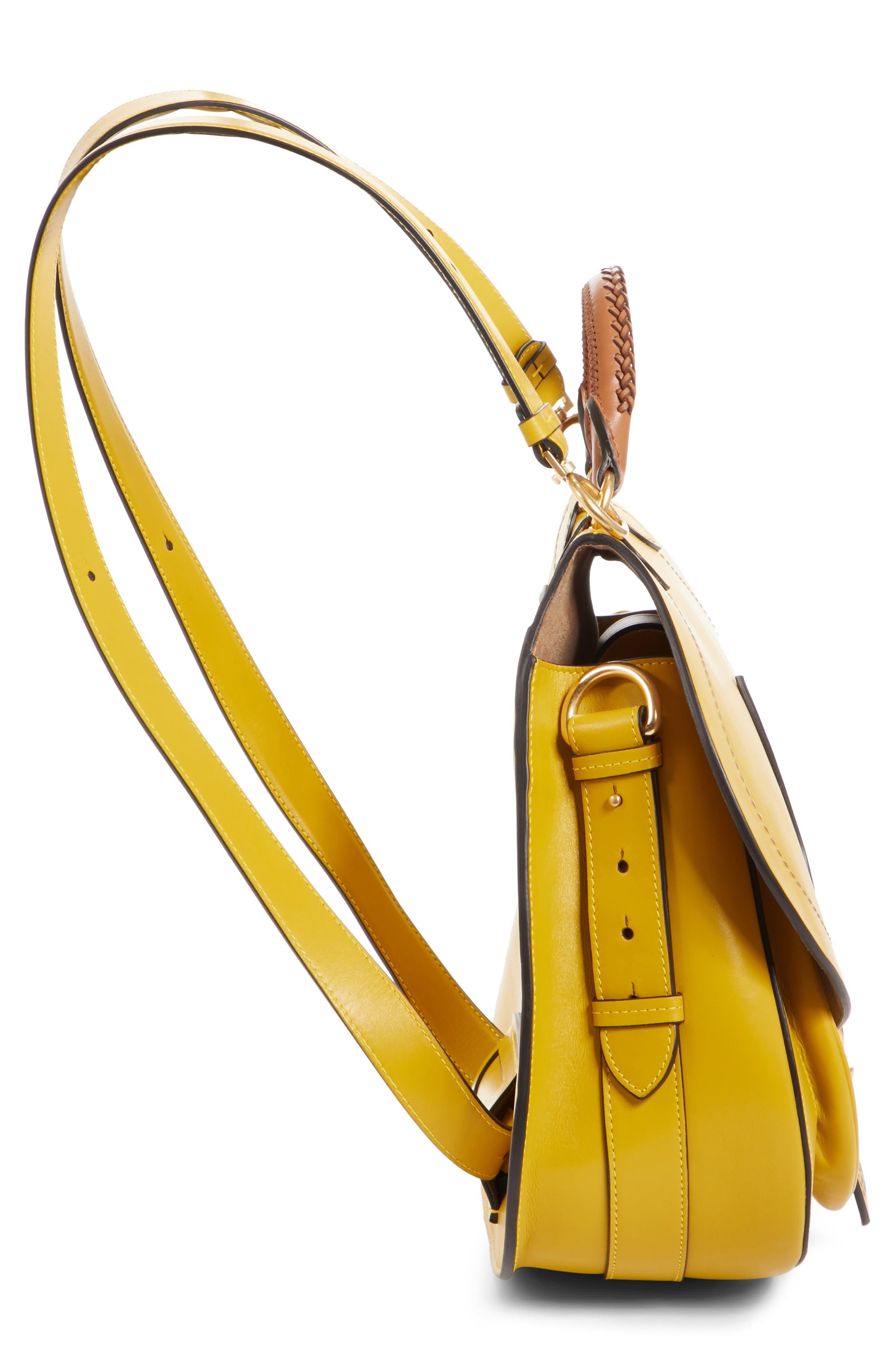 Alternate Image 5  - Maison Margiela Large Bag Slide Leather Saddle Bag
