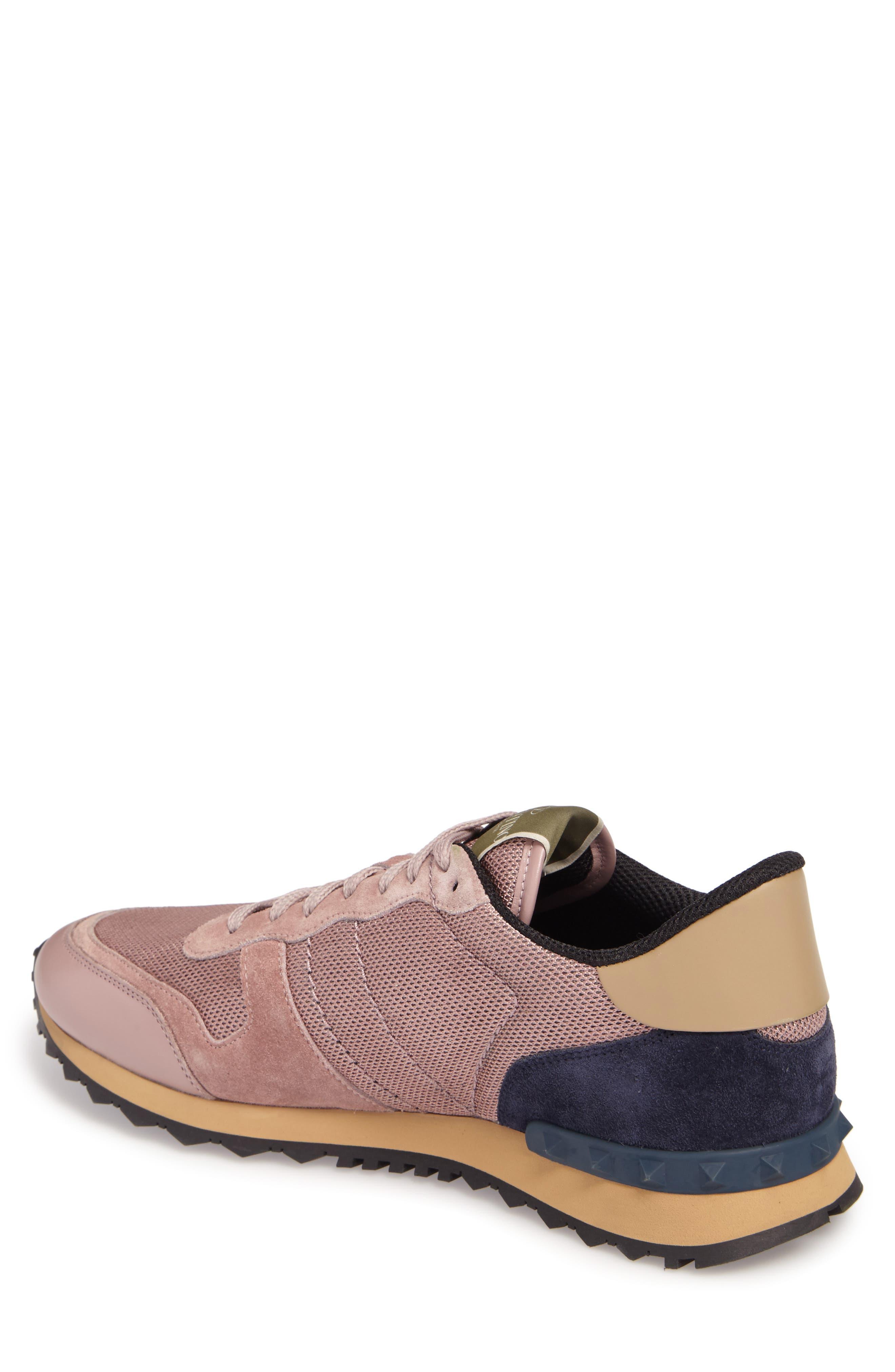 Nylon Rockrunner Sneaker,                             Alternate thumbnail 2, color,                             Lipstick