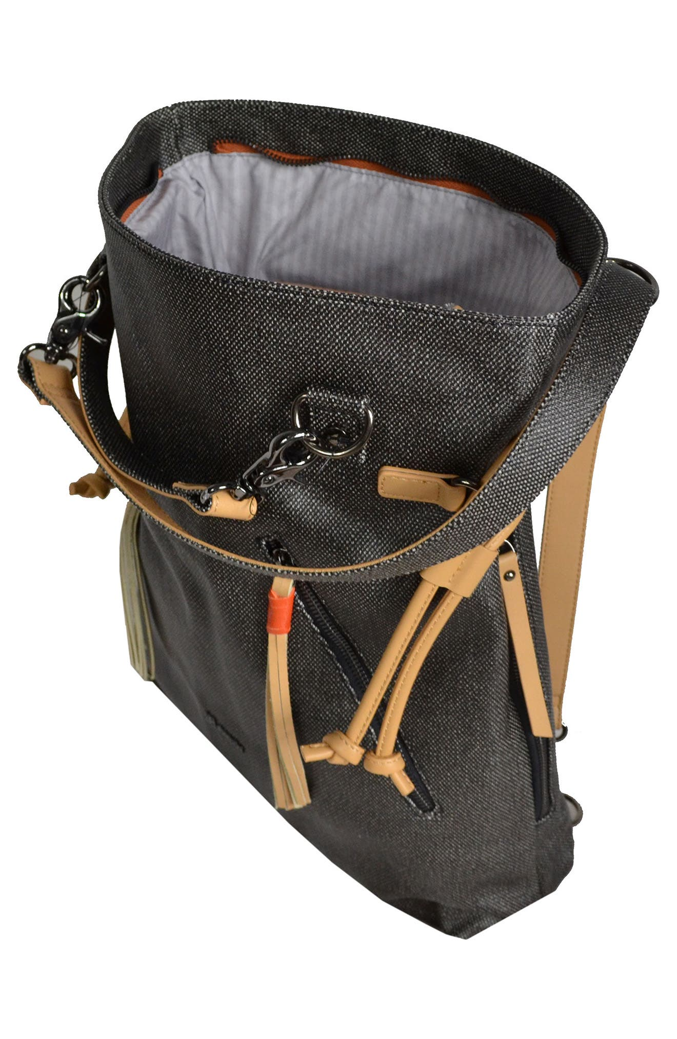 Alternate Image 3  - Sherpani Tempest Canvas Convertible Backpack