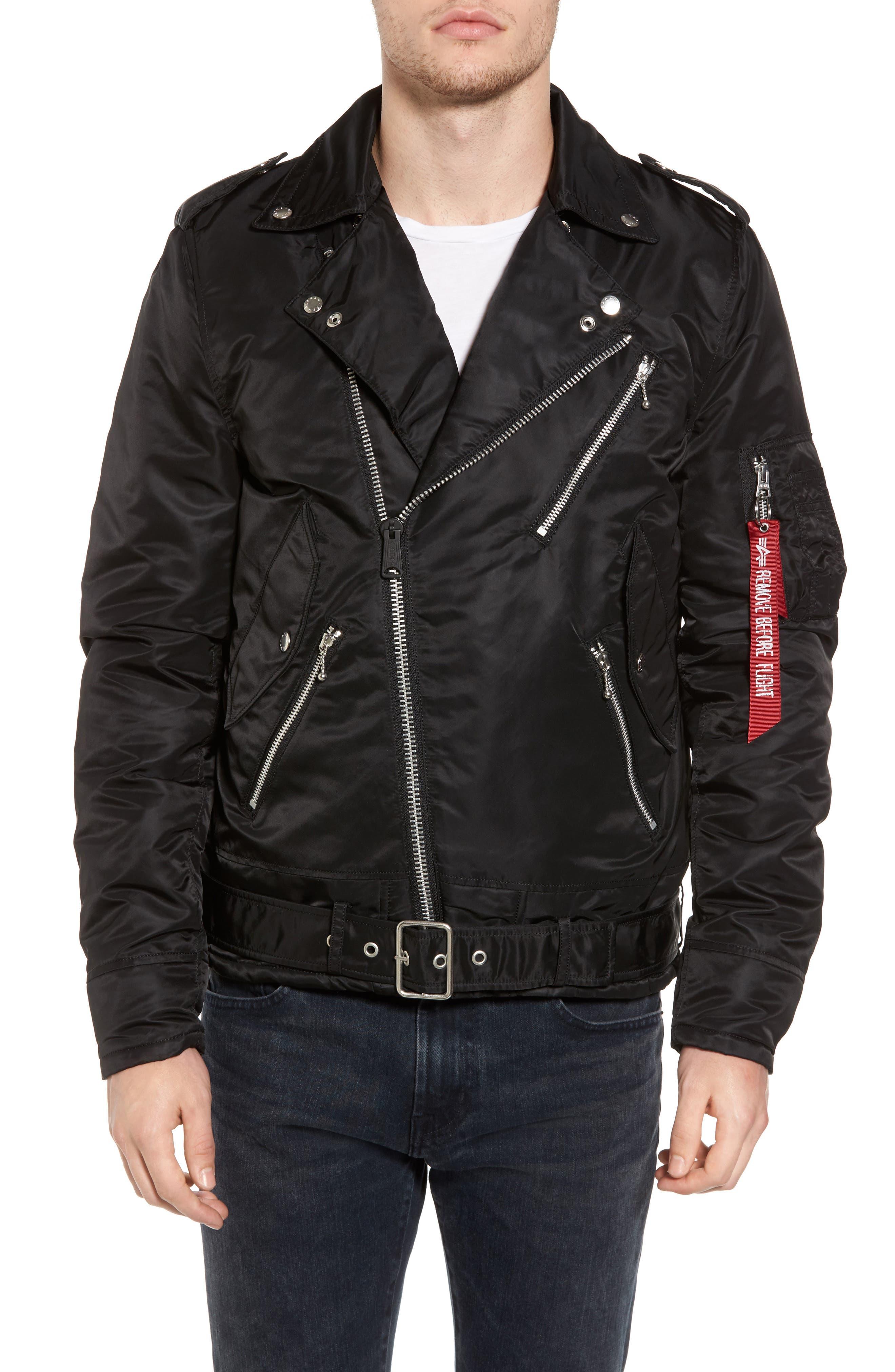 Alternate Image 4  - Alpha Industries Outlaw Biker Jacket
