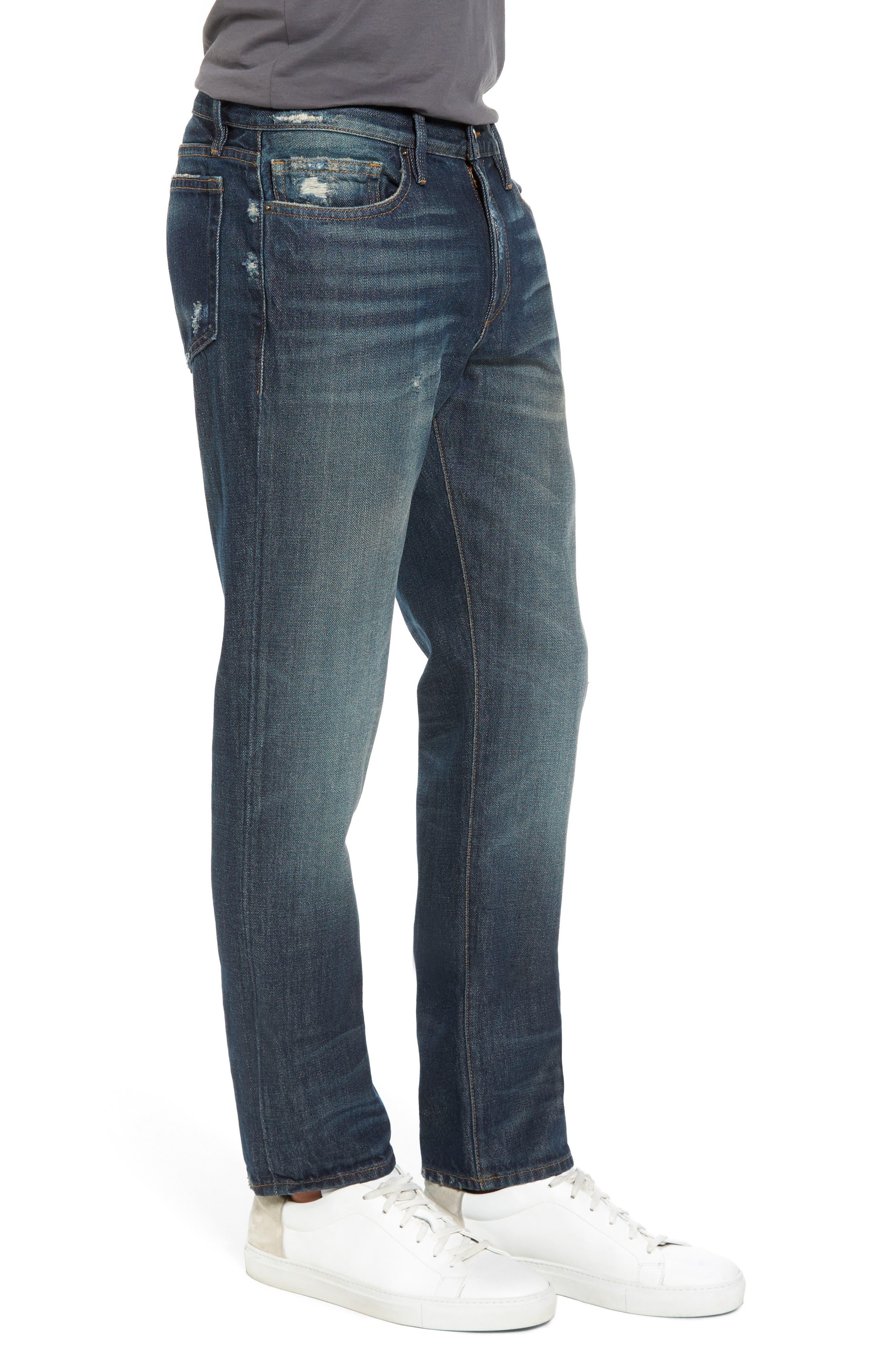 Alternate Image 3  - FRAME L'Homme Slim Fit Jeans (Bunker)