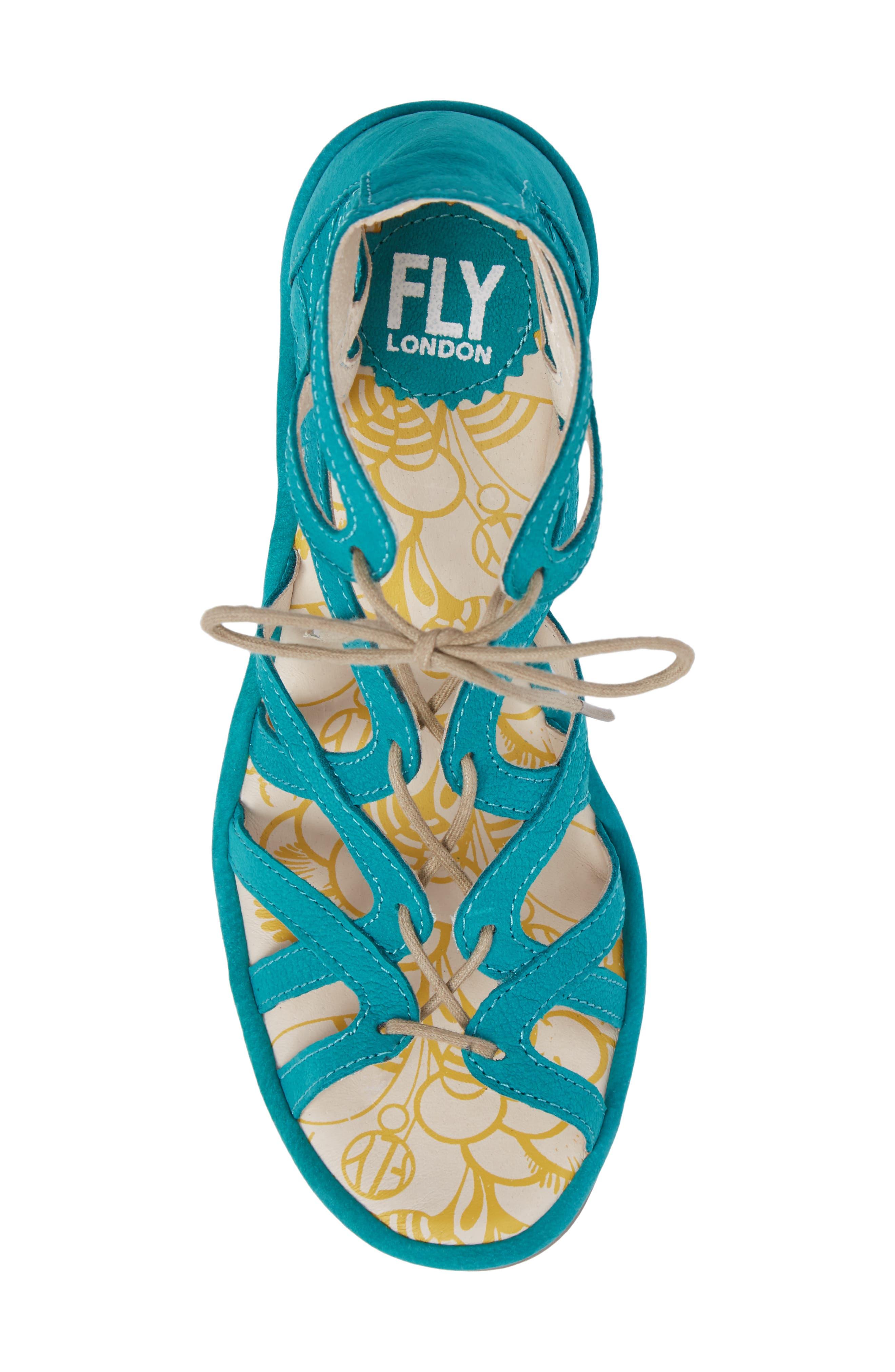 Alternate Image 5  - Fly London 'Yuke' Platform Wedge Sandal (Women)