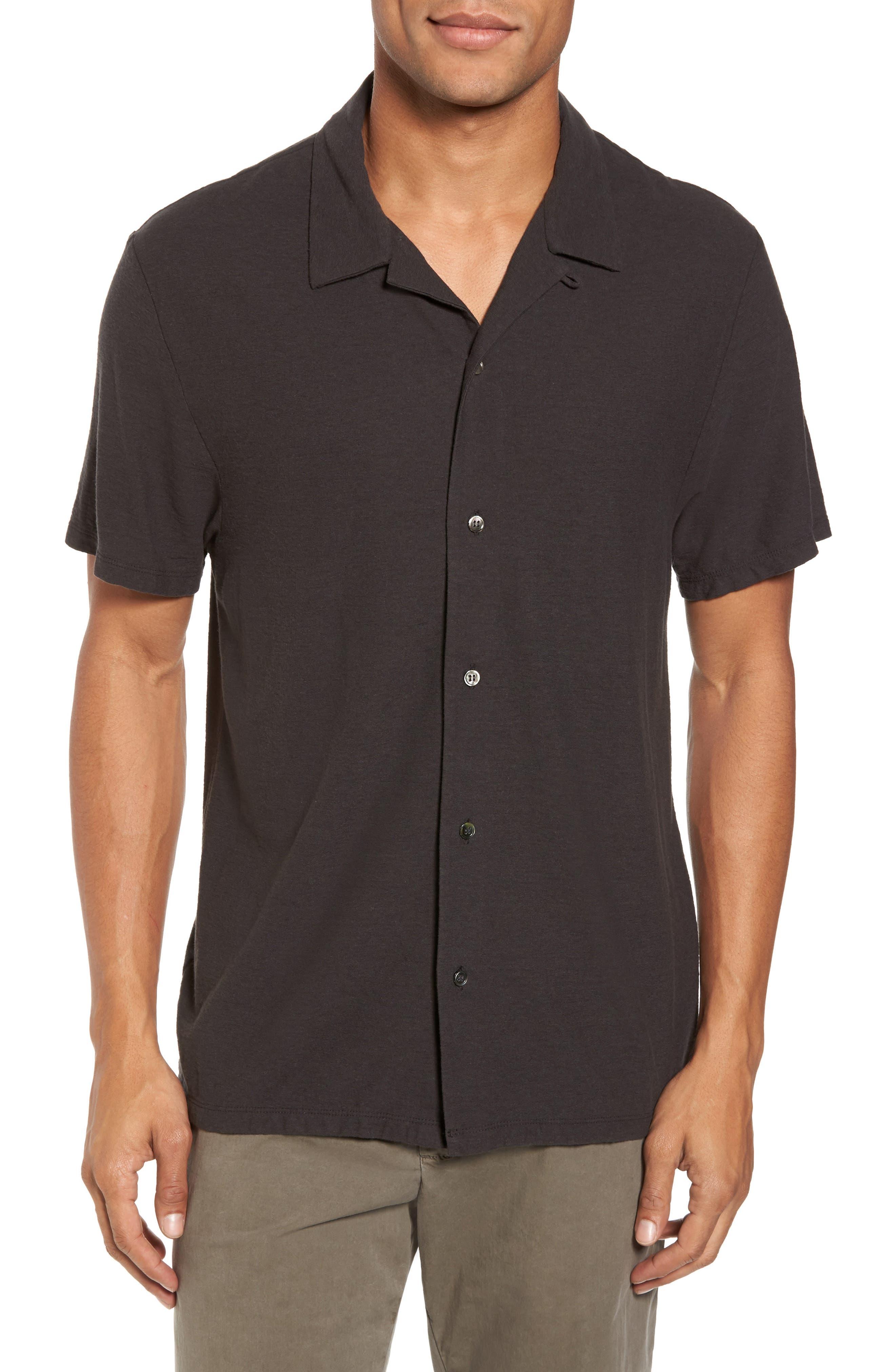 James Perse Cotton & Linen Sport Shirt