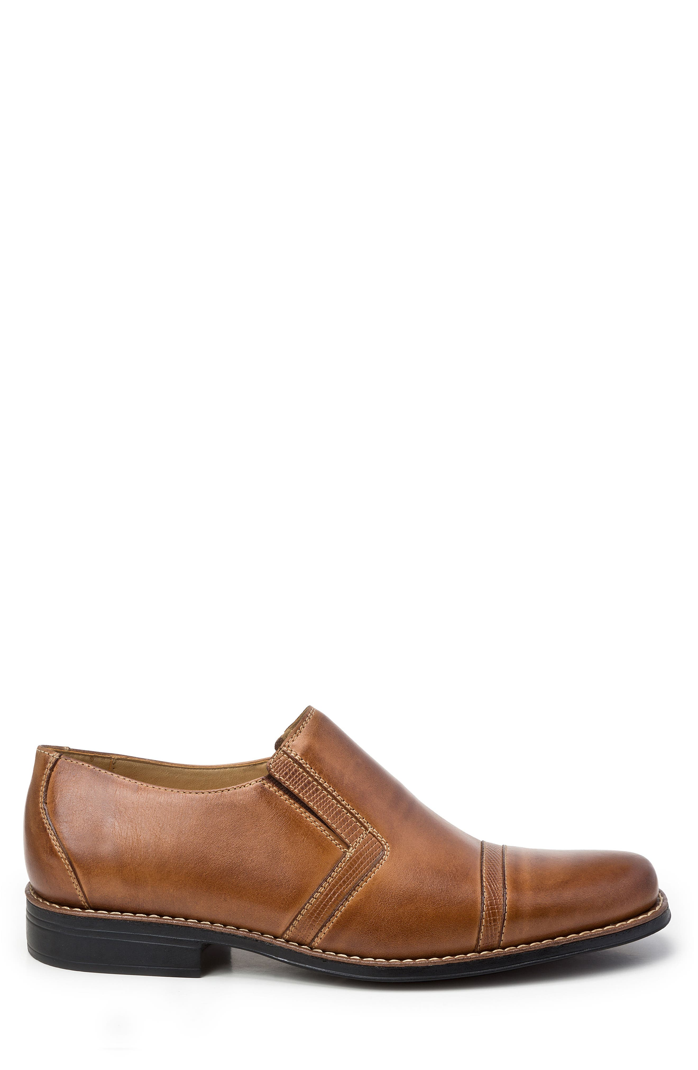 Sebastian Venetian Loafer,                             Alternate thumbnail 3, color,                             Tan Leather