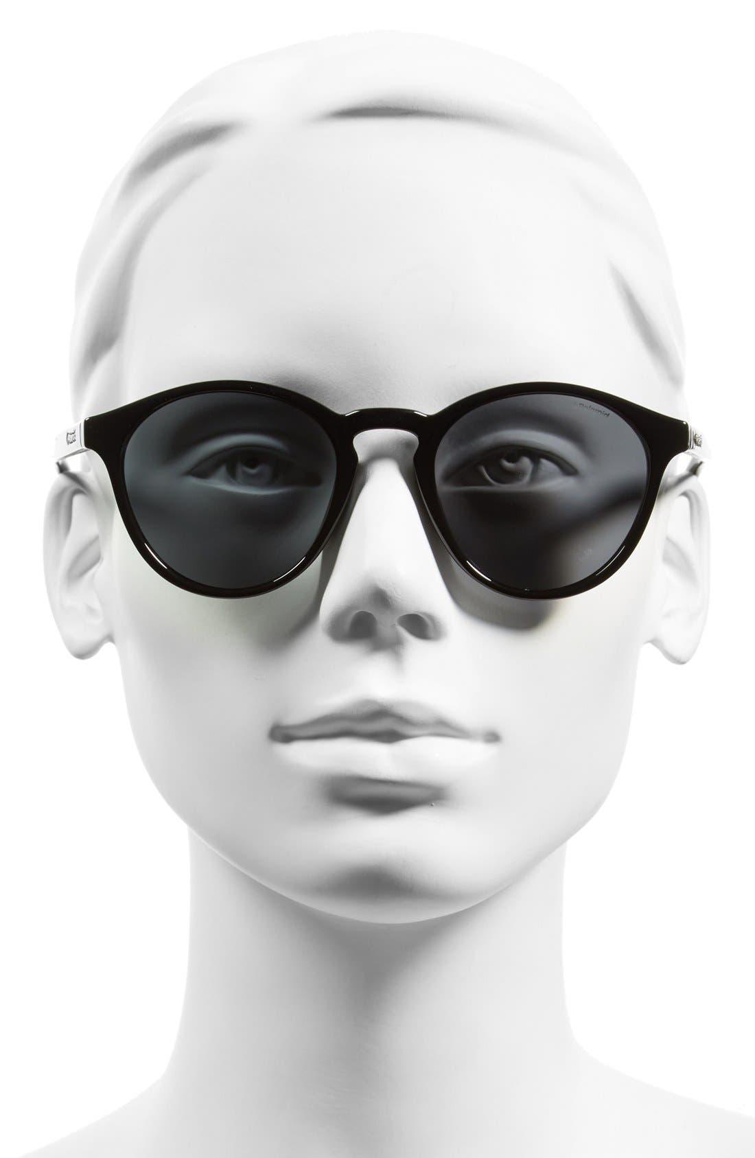 Alternate Image 2  - Polaroid Eyewear 50mm Polarized Sunglasses