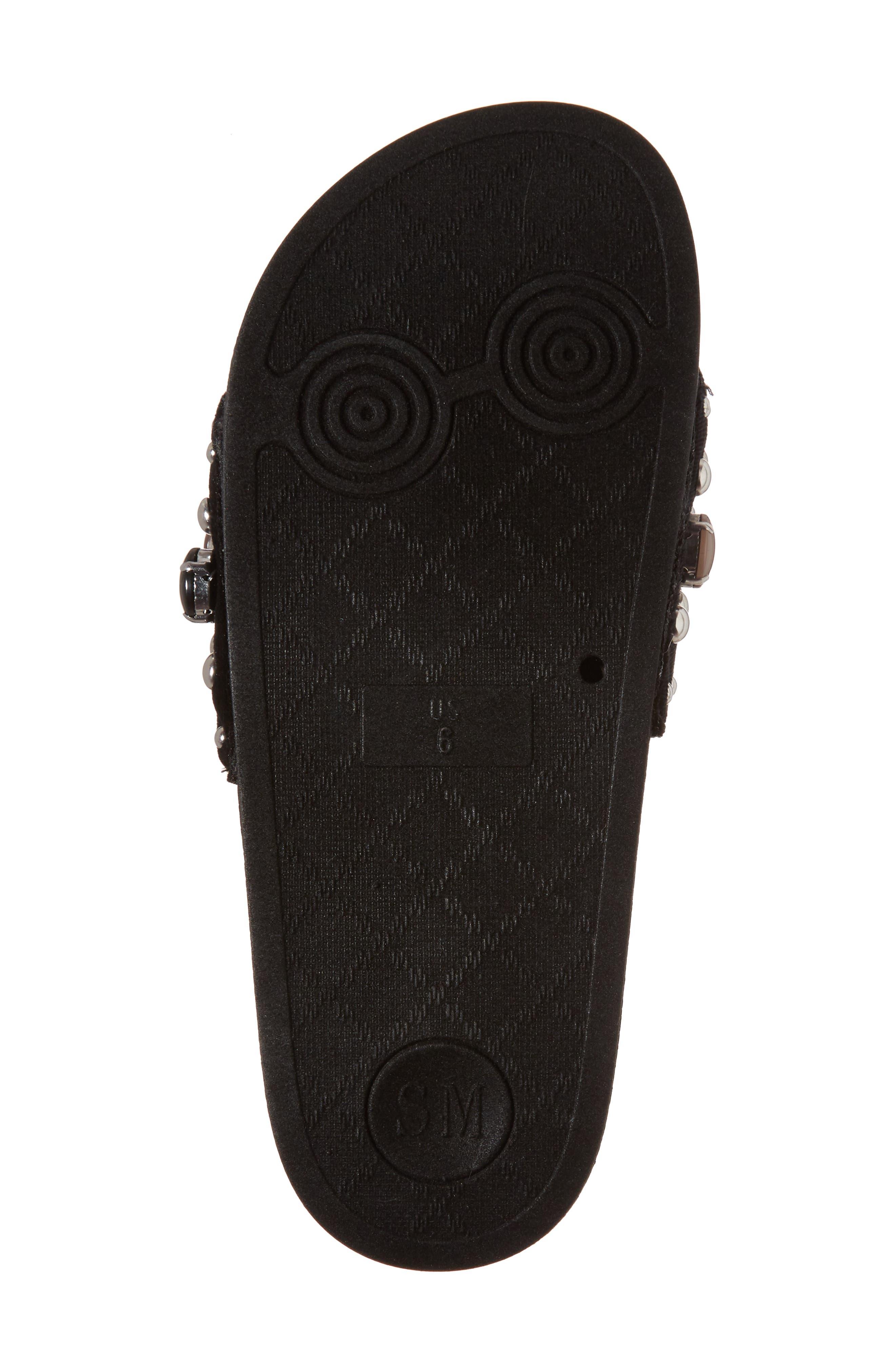 Alternate Image 6  - Steve Madden Studded Slide Sandal